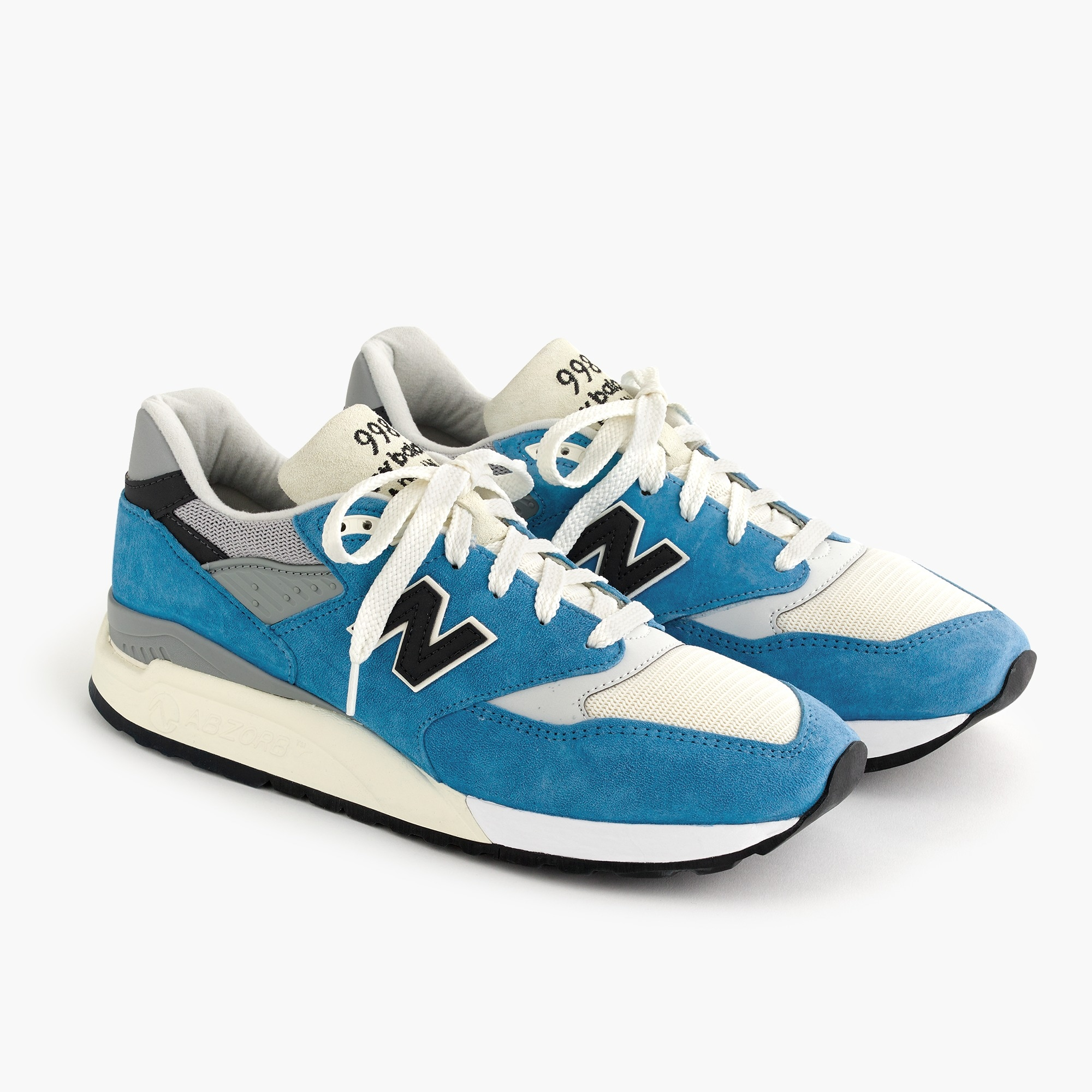mens New Balance® for J.Crew 998 sneakers in bright blue