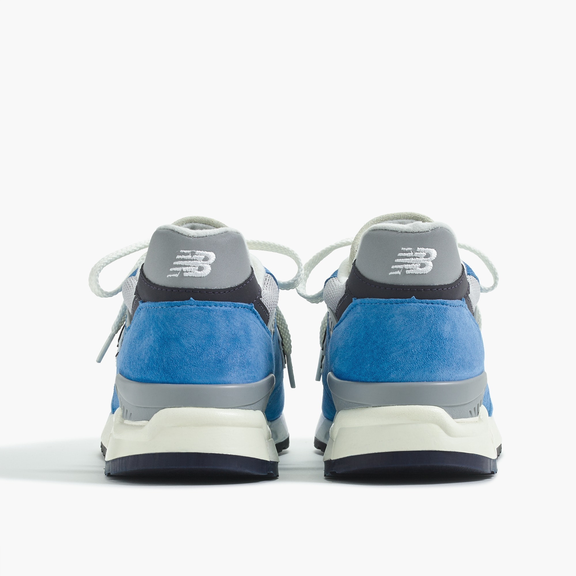 men's new balance® for j.crew 998 sneakers in bright blue - men's footwear