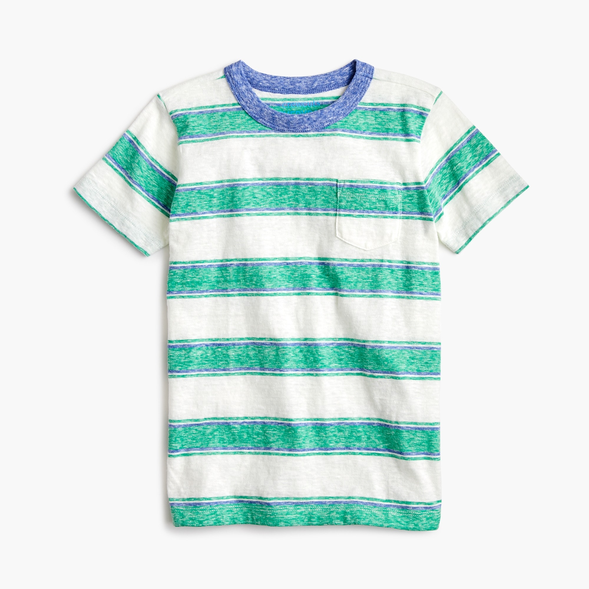 boys Boys' striped T-shirt in the softest jersey