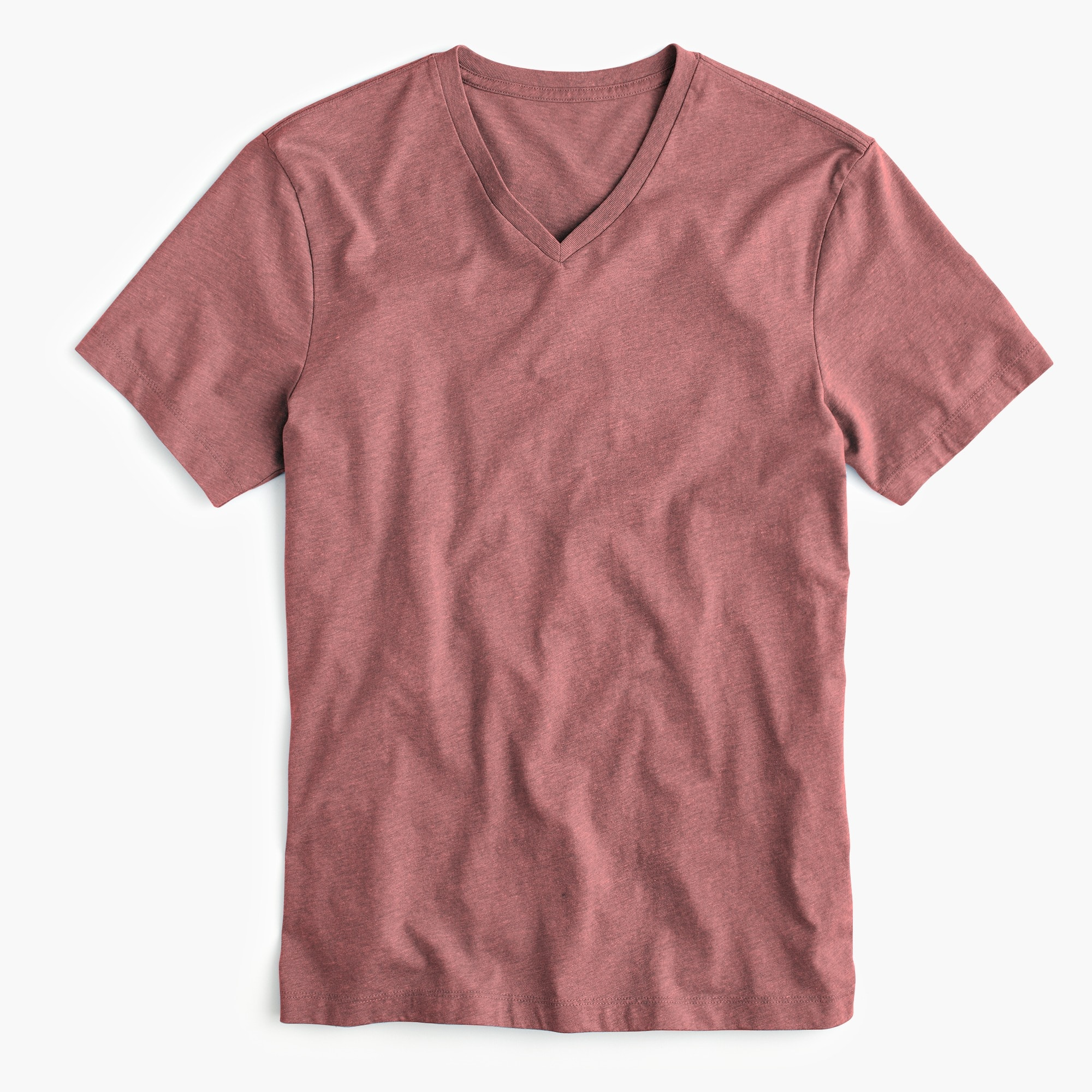 mens Tall J.Crew Mercantile Broken-in V-neck heather T-shirt
