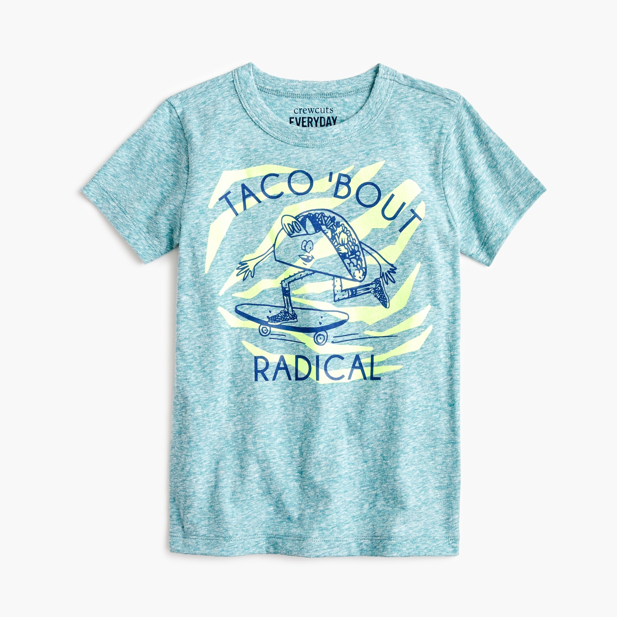 "Boys' ""taco 'bout radical"" T-shirt boy new arrivals c"