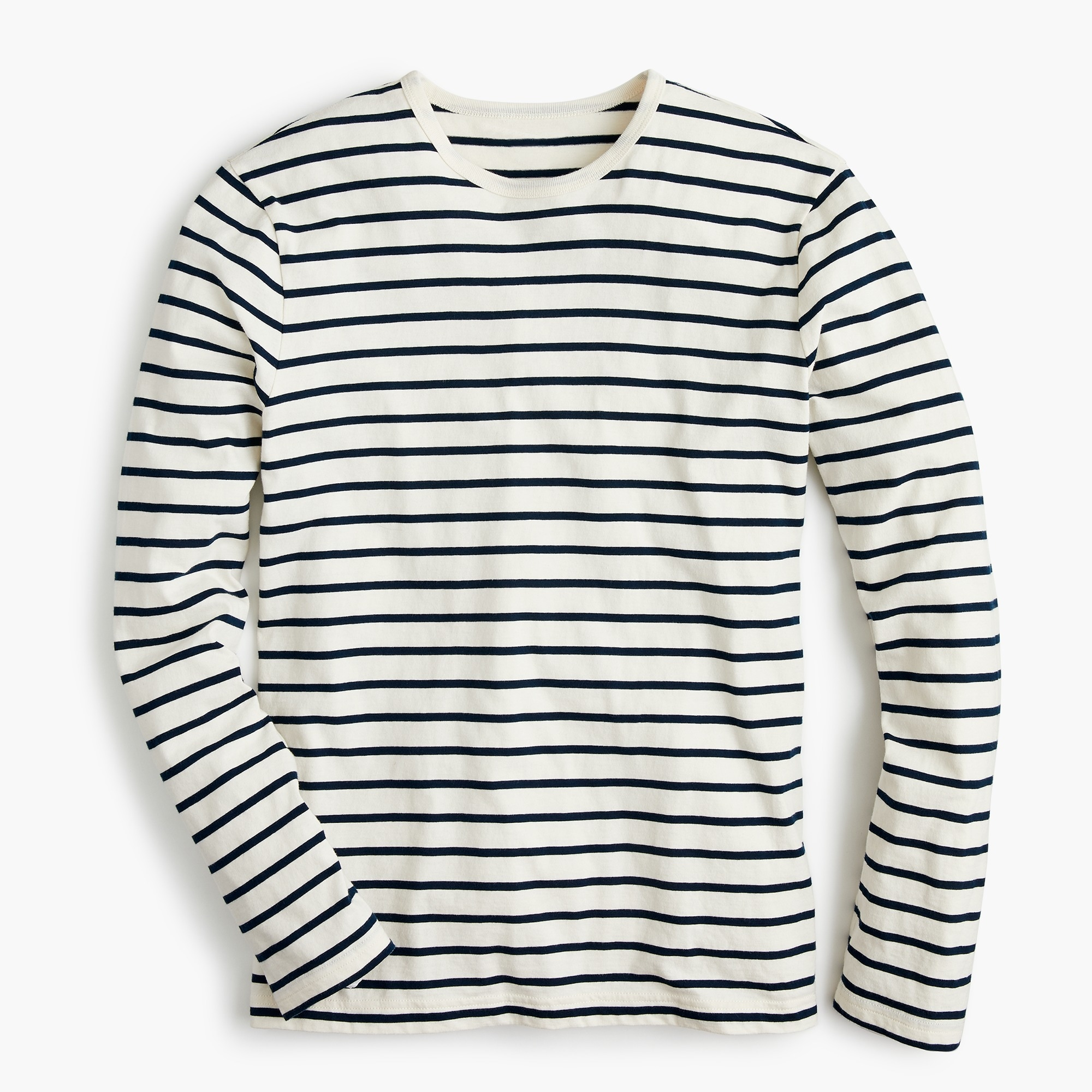 Tall J.Crew Mercantile Broken-in long-sleeve T-shirt in deck stripe