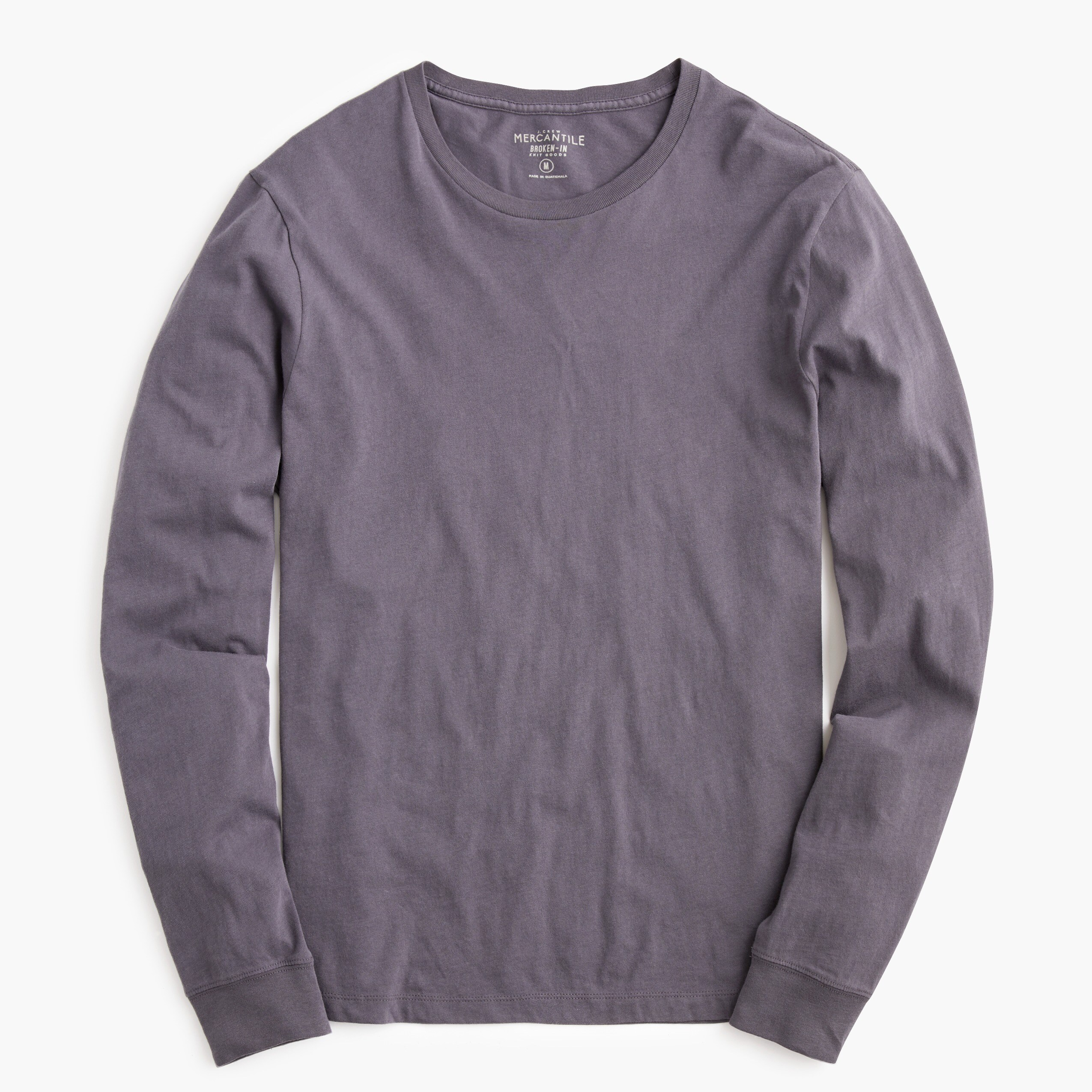 mens Tall J.Crew Mercantile Broken-in long-sleeve T-shirt