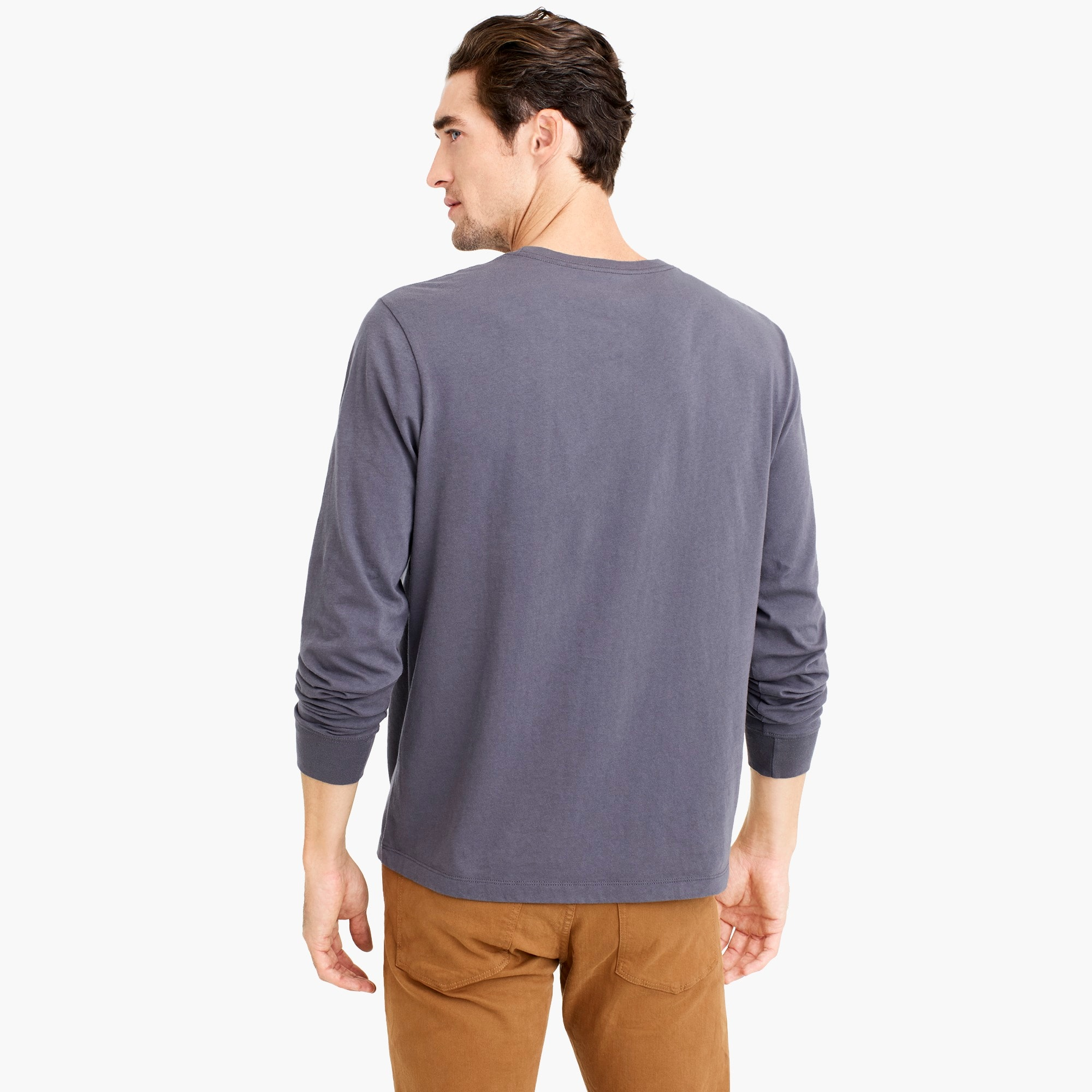 J.Crew Mercantile Broken-in long-sleeve T-shirt