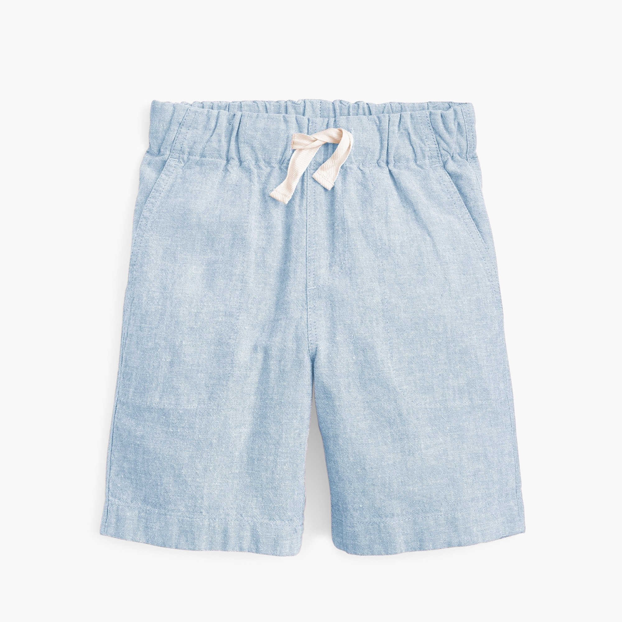 boys Boys' pull-on short in cotton-linen