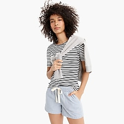 Point Sur seaside short in stripe