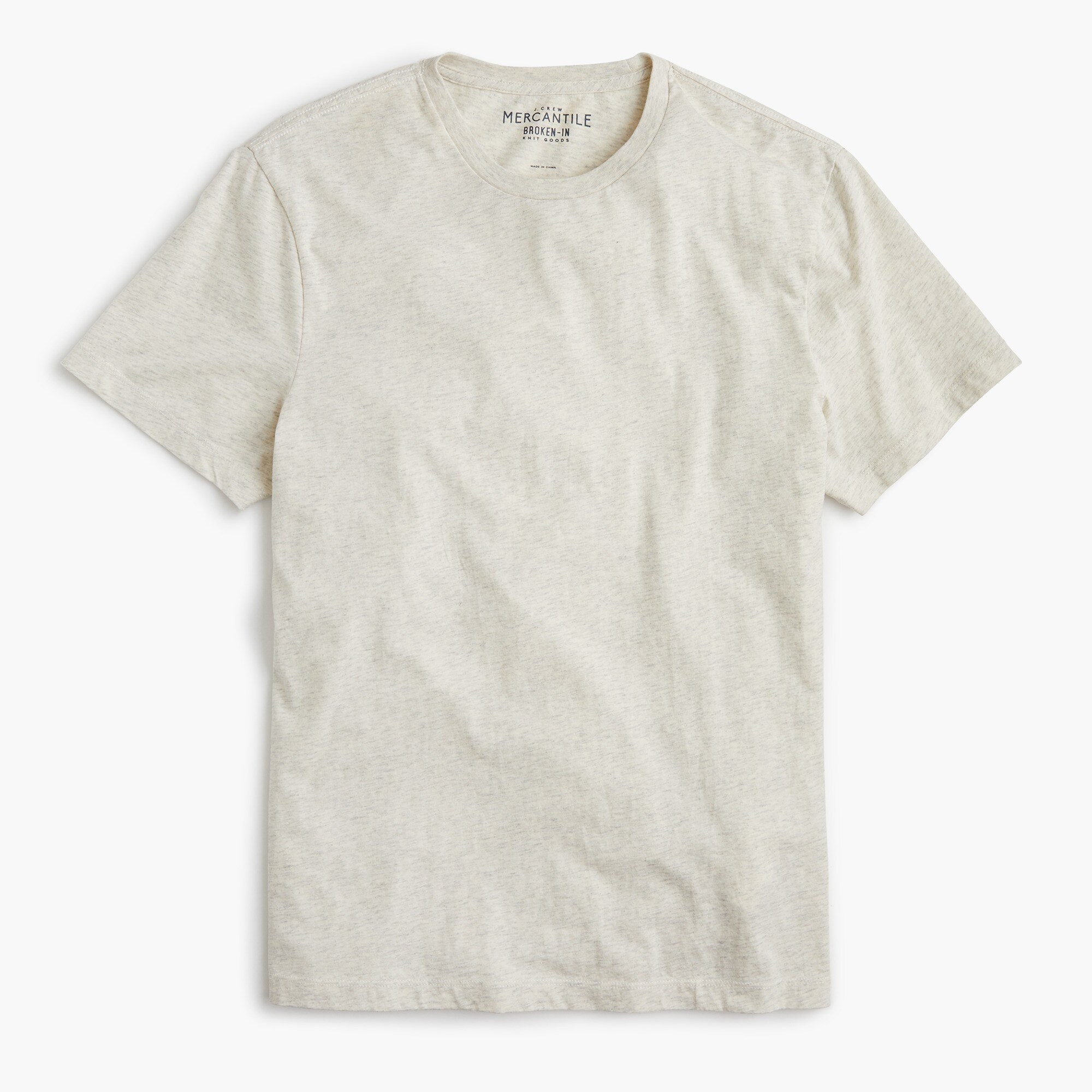 Slim J.Crew Mercantile Broken-in heather T-shirt