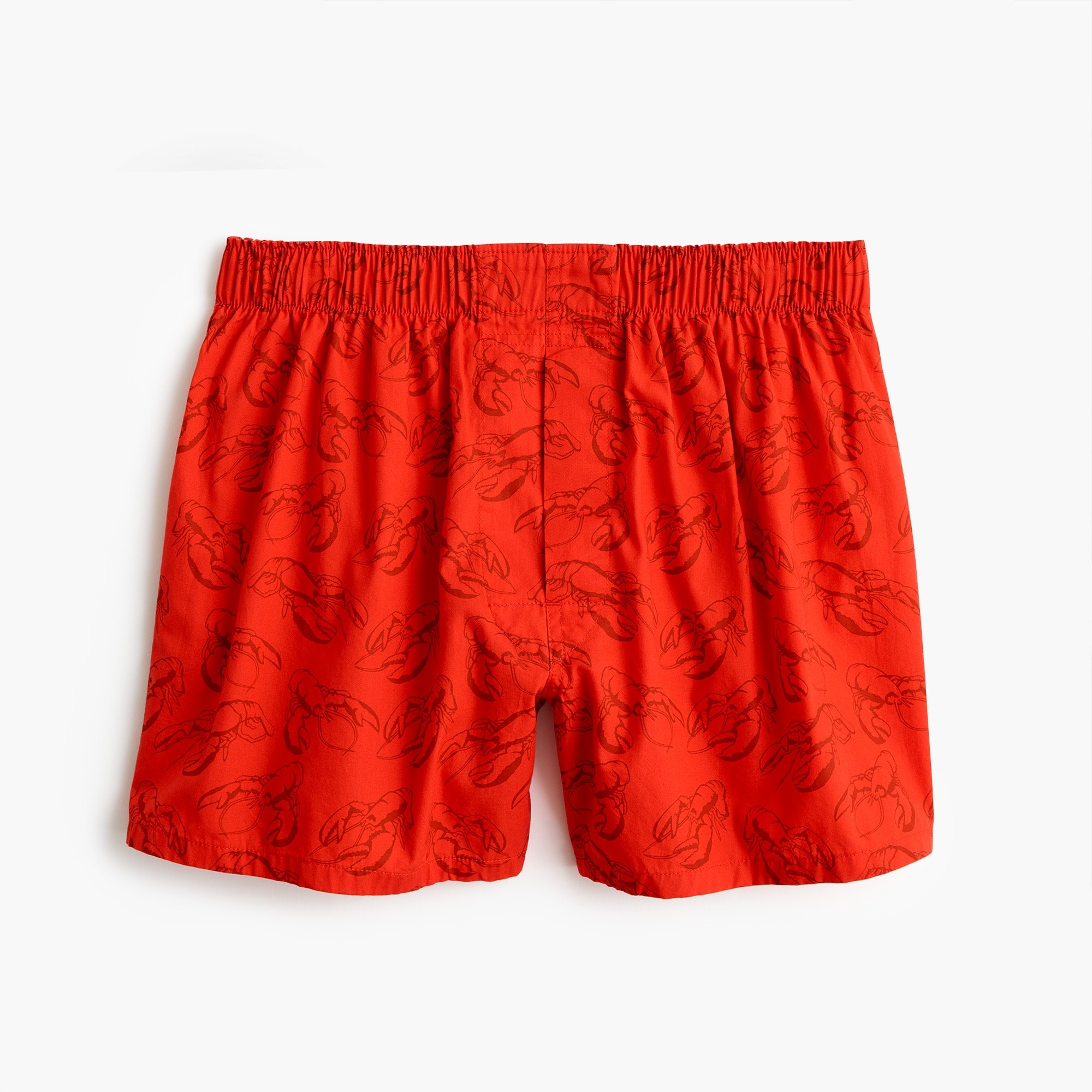 mens Red lobster print boxers
