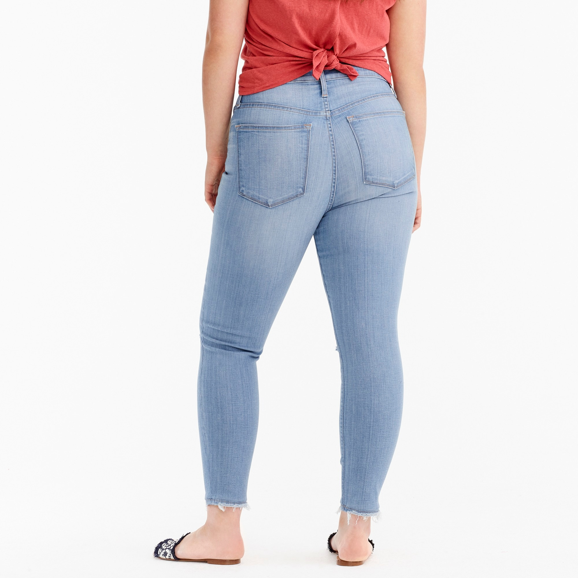 Image 3 for Petite curvy toothpick jean in medium blue