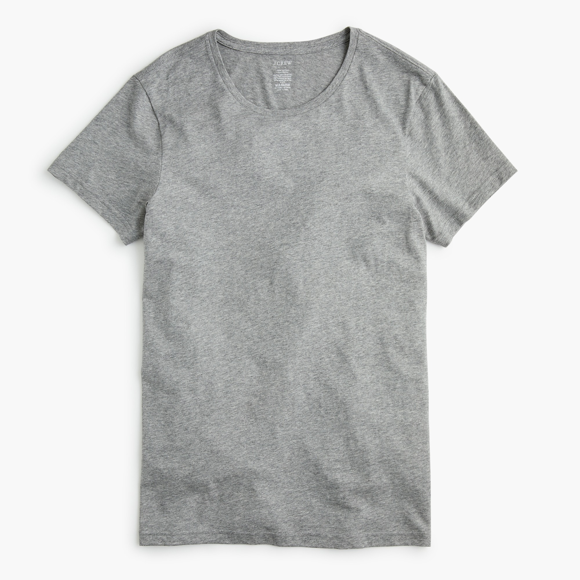 men's heather grey crewneck undershirt - men's underwear