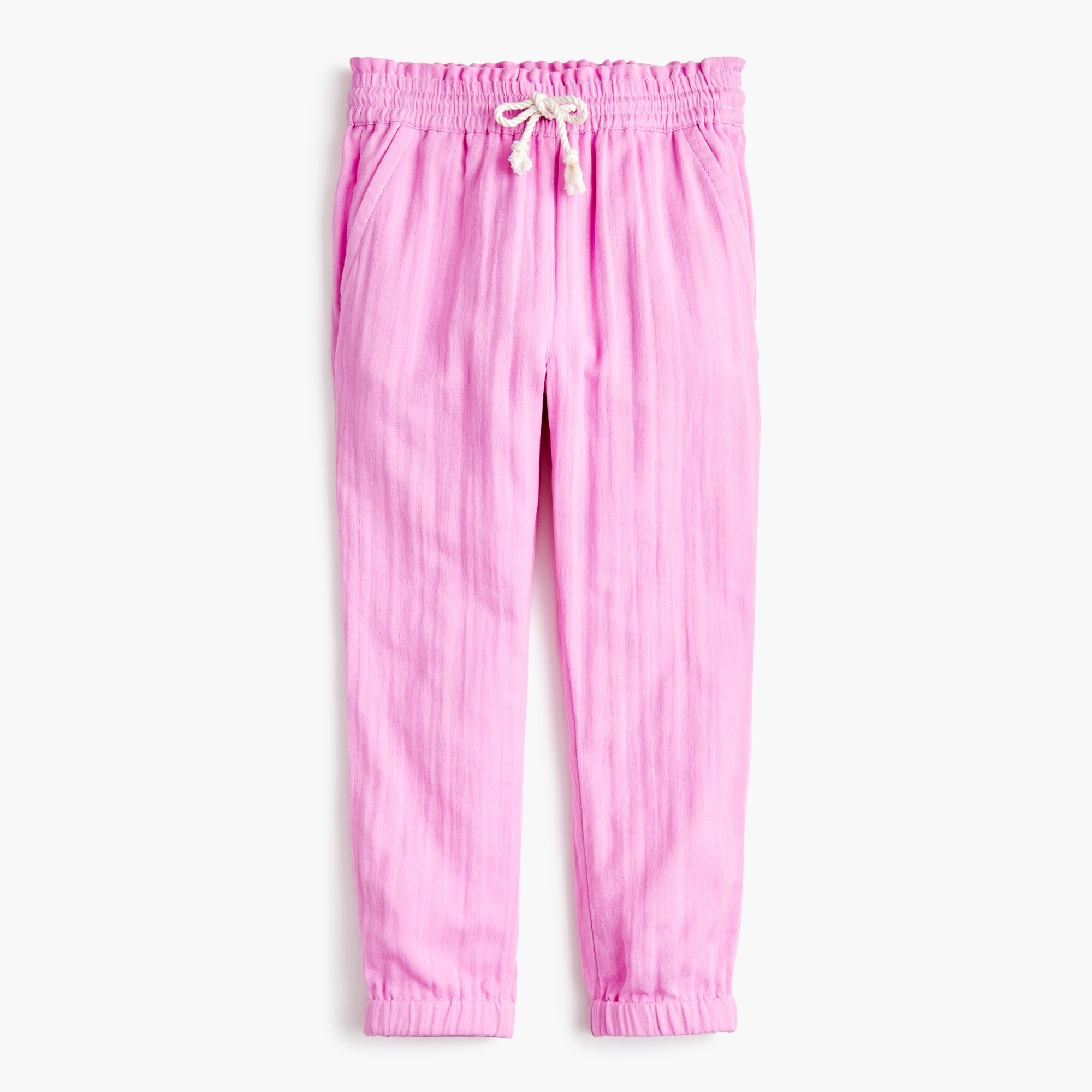 girls' drawstring pant - girls' pants