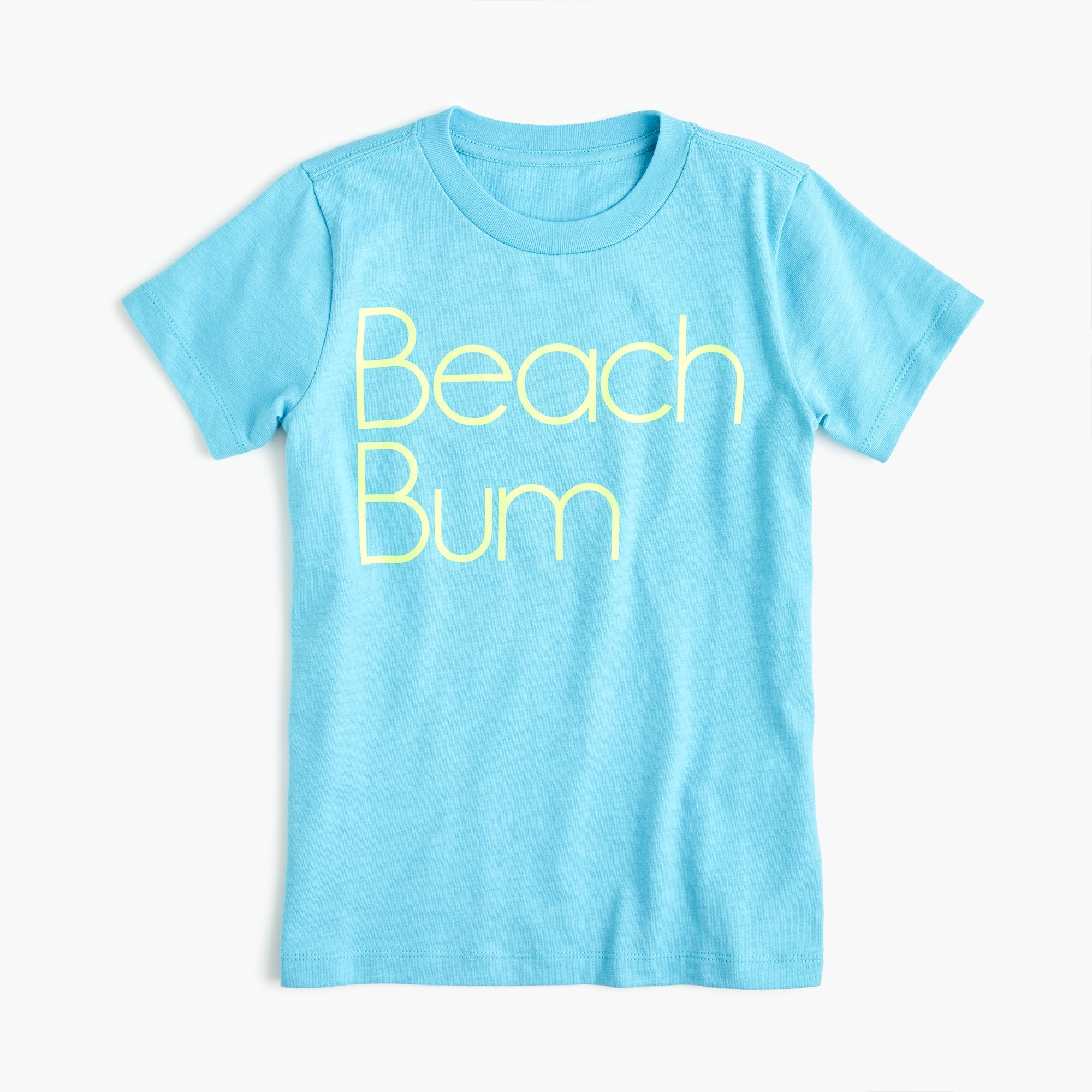 "Kids' ""beach bum "" T-shirt boy graphics shop c"