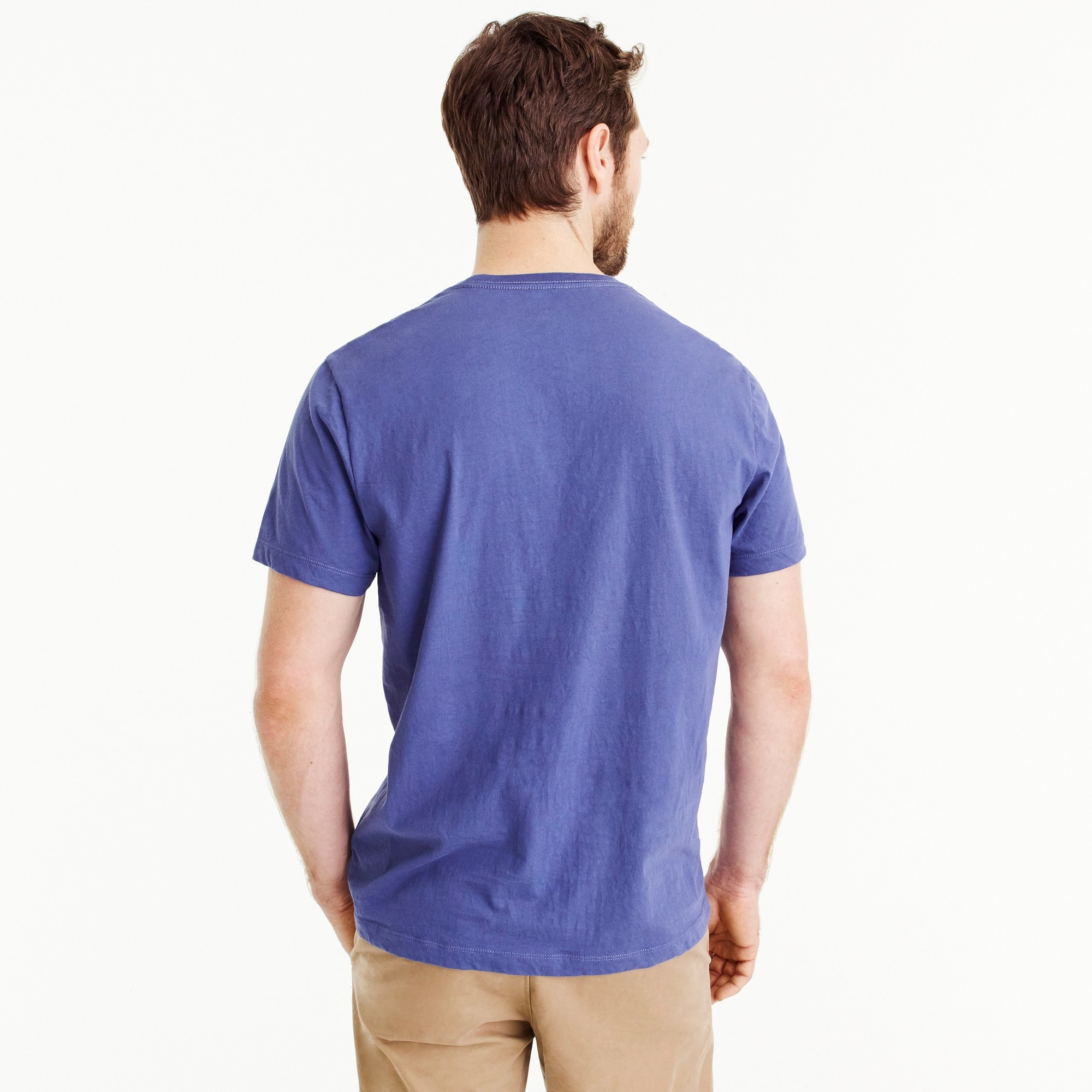 Image 3 for Tall J.Crew Mercantile Broken-in T-shirt in sail graphic