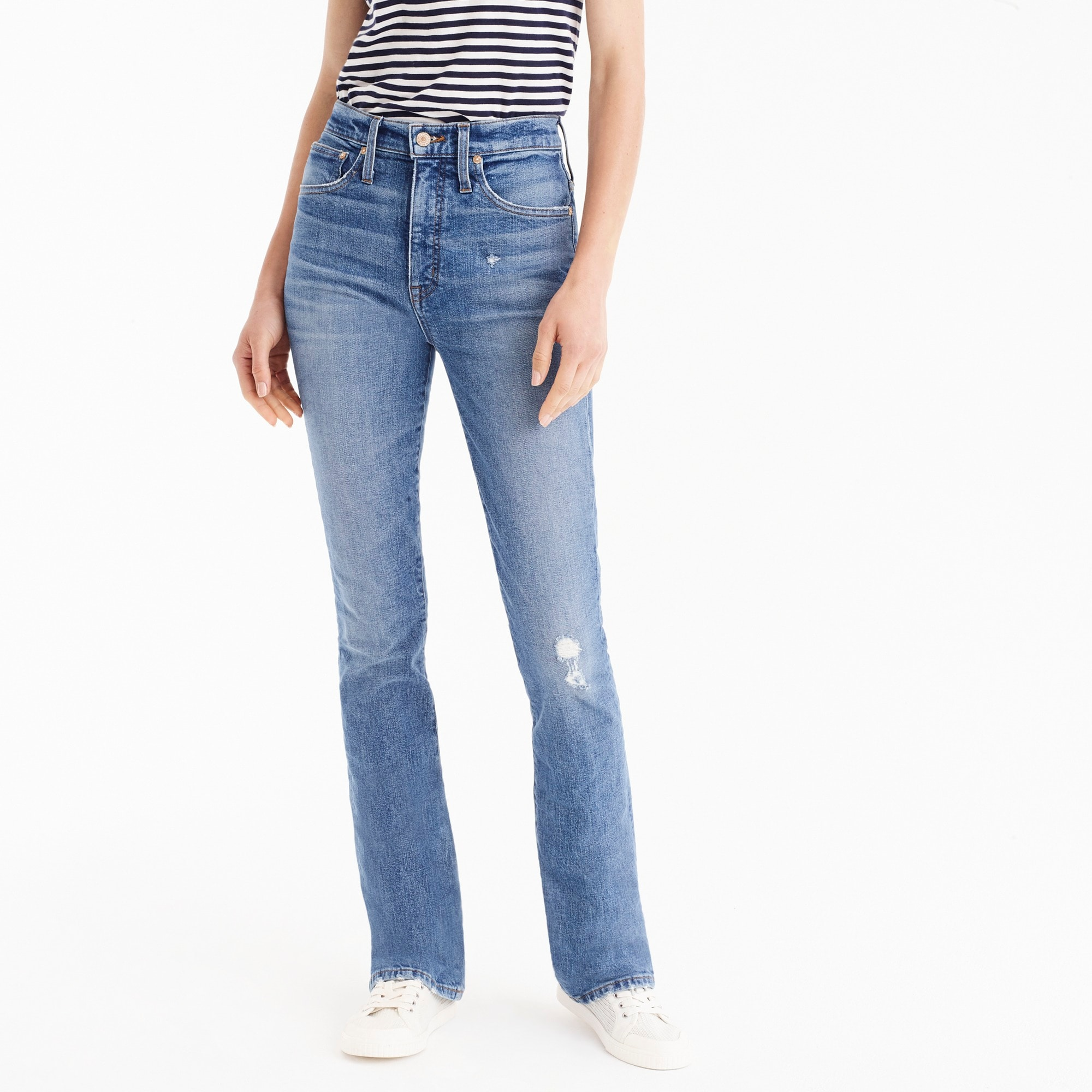 womens Point Sur skinny flare jean in vintage wash
