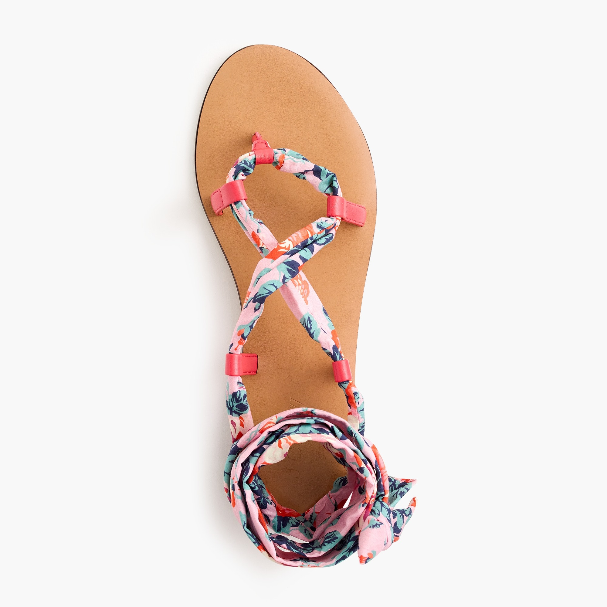 Image 1 for Wrap-around sandals in Liberty® floral