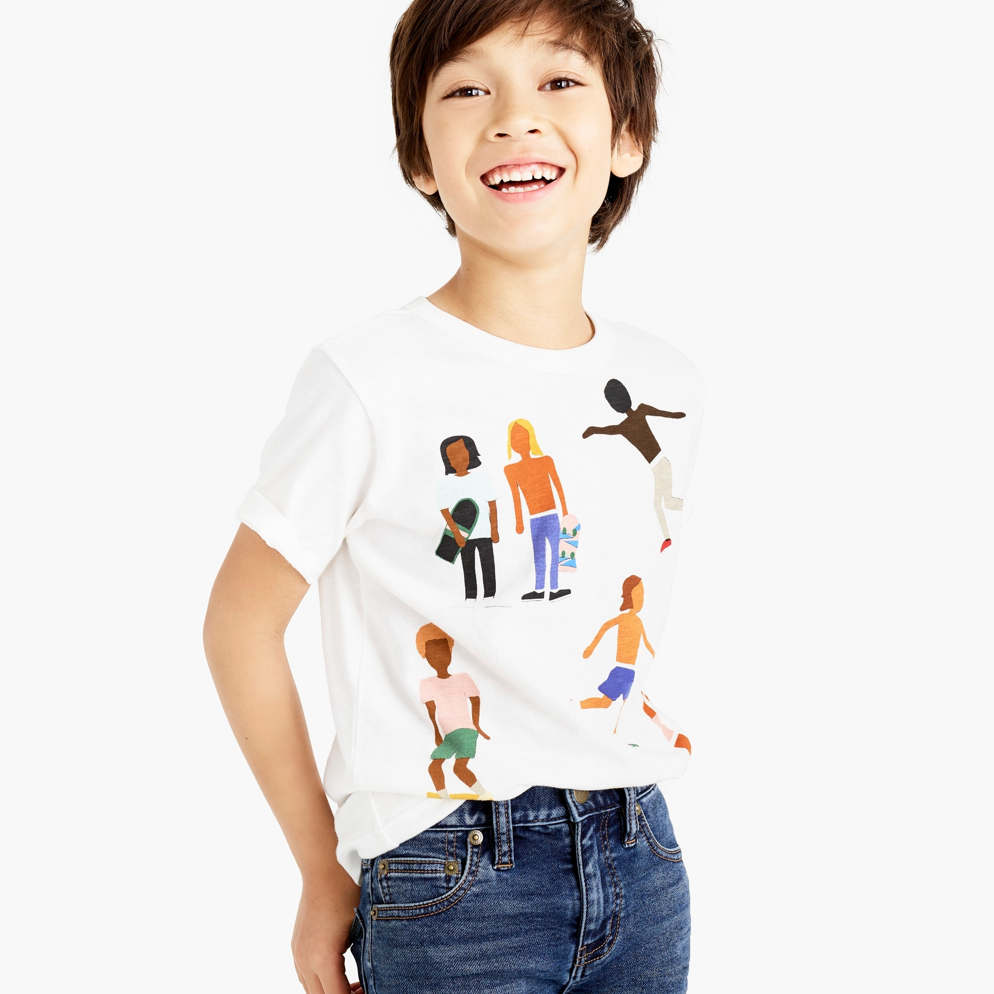 boys Boys' crewcuts x Isabel Bacon T-shirt