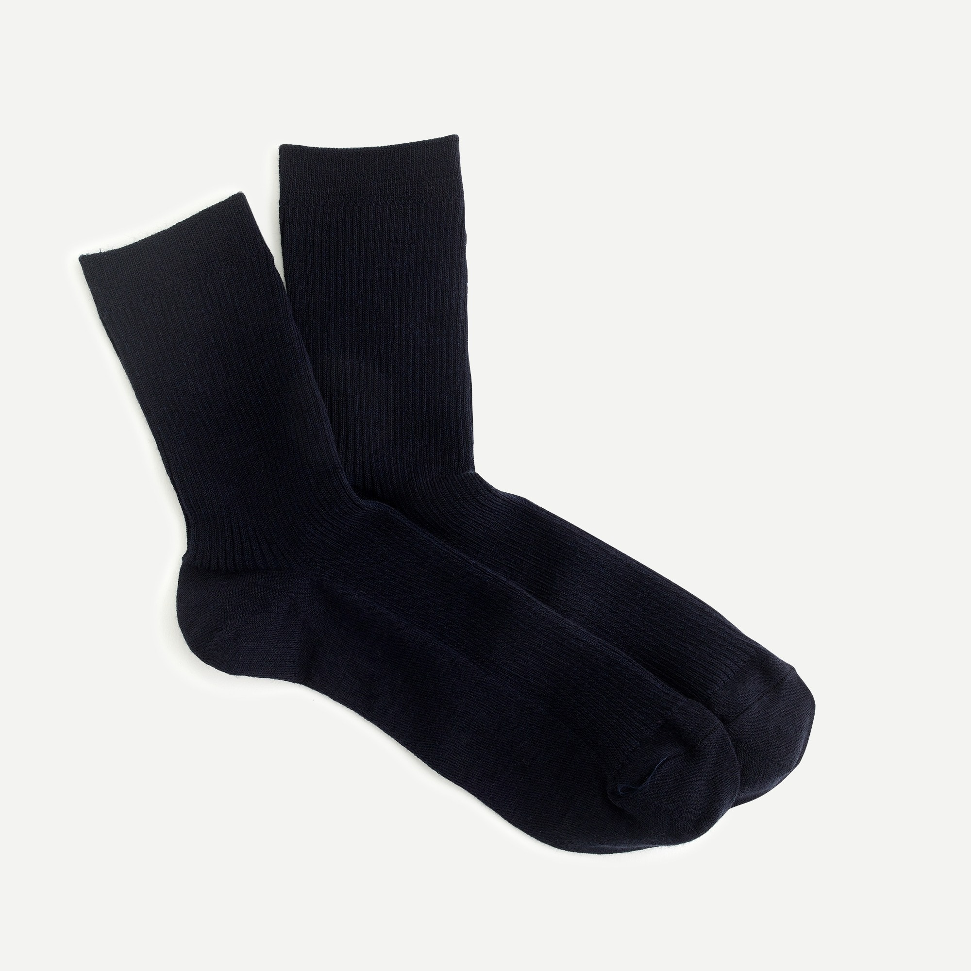 womens Ribbed ankle socks