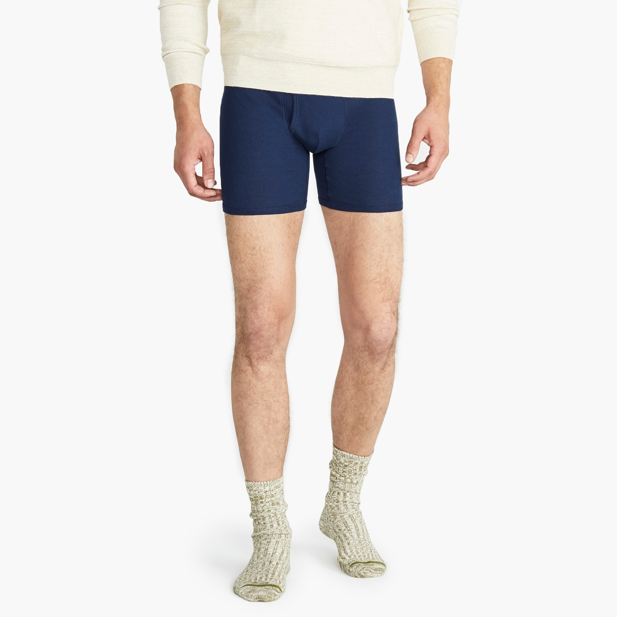 mens Mack Weldon® for J.Crew Prime Cotton boxer brief