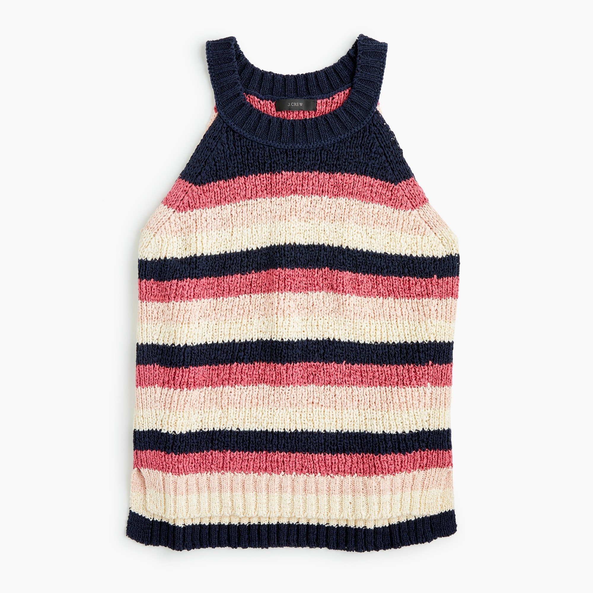 Sweater tank in stripe