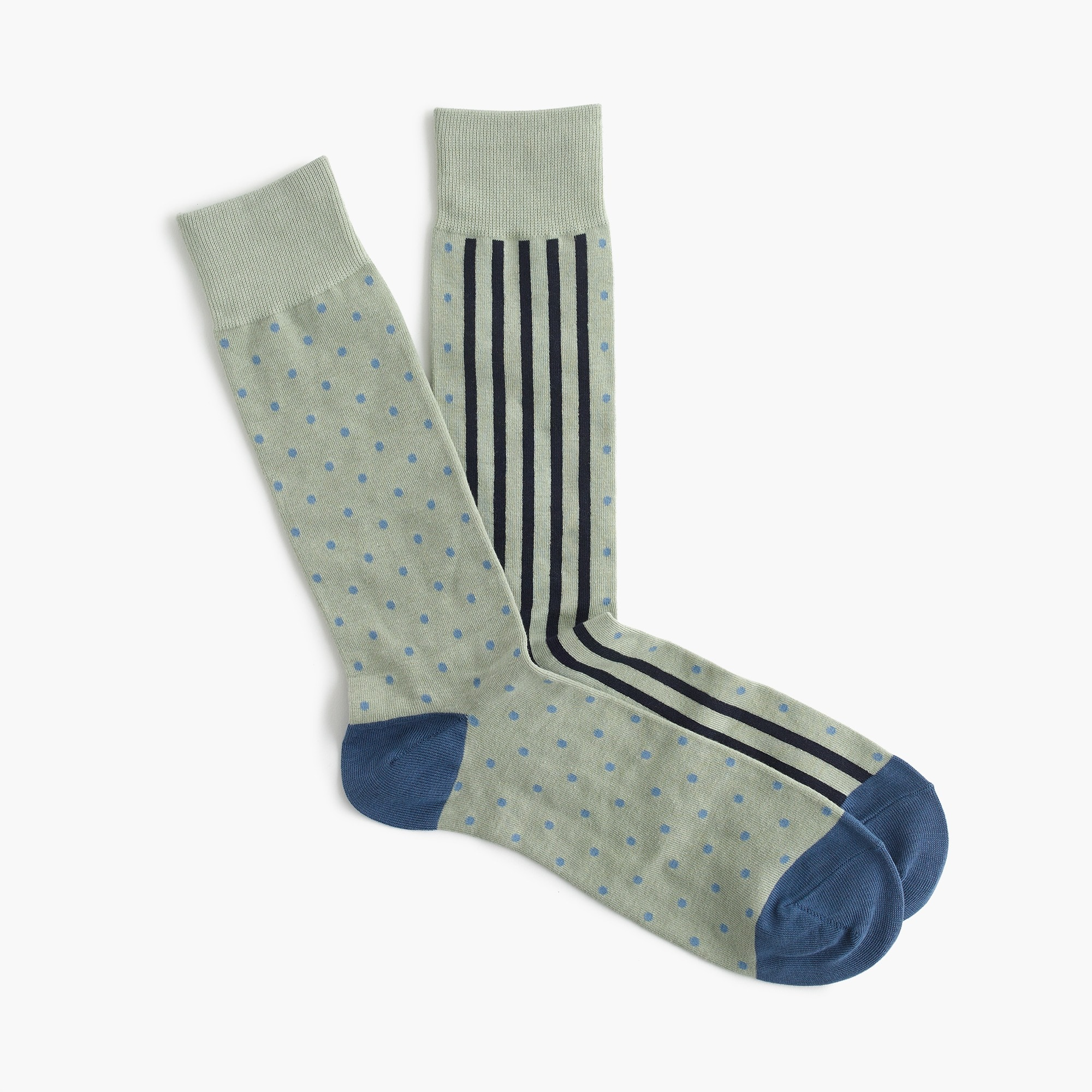 mens Striped and dotted socks