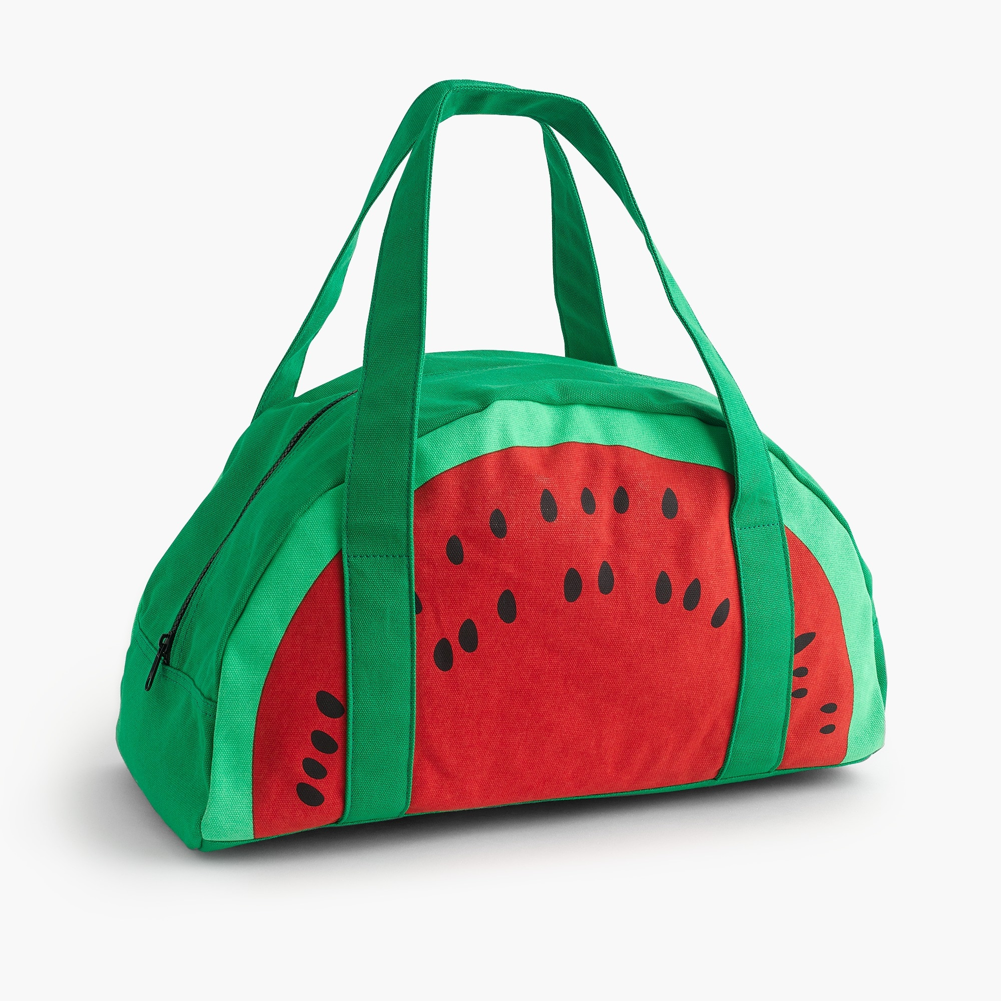 Image 1 for Girls' watermelon overnight bag