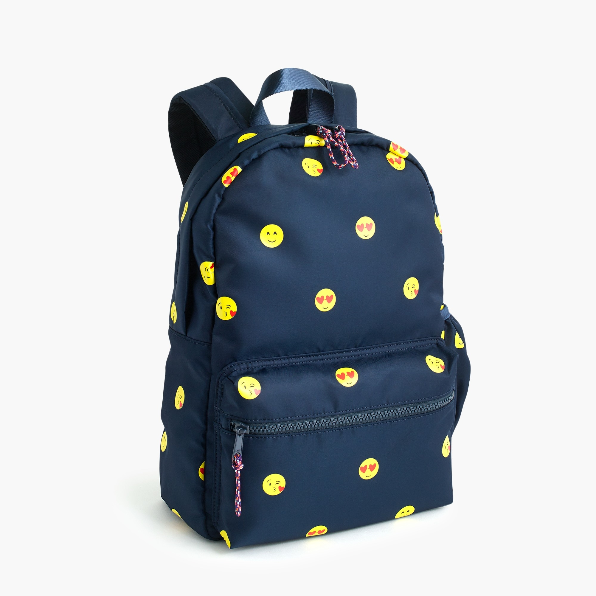 girls Kids' emoji-print backpack