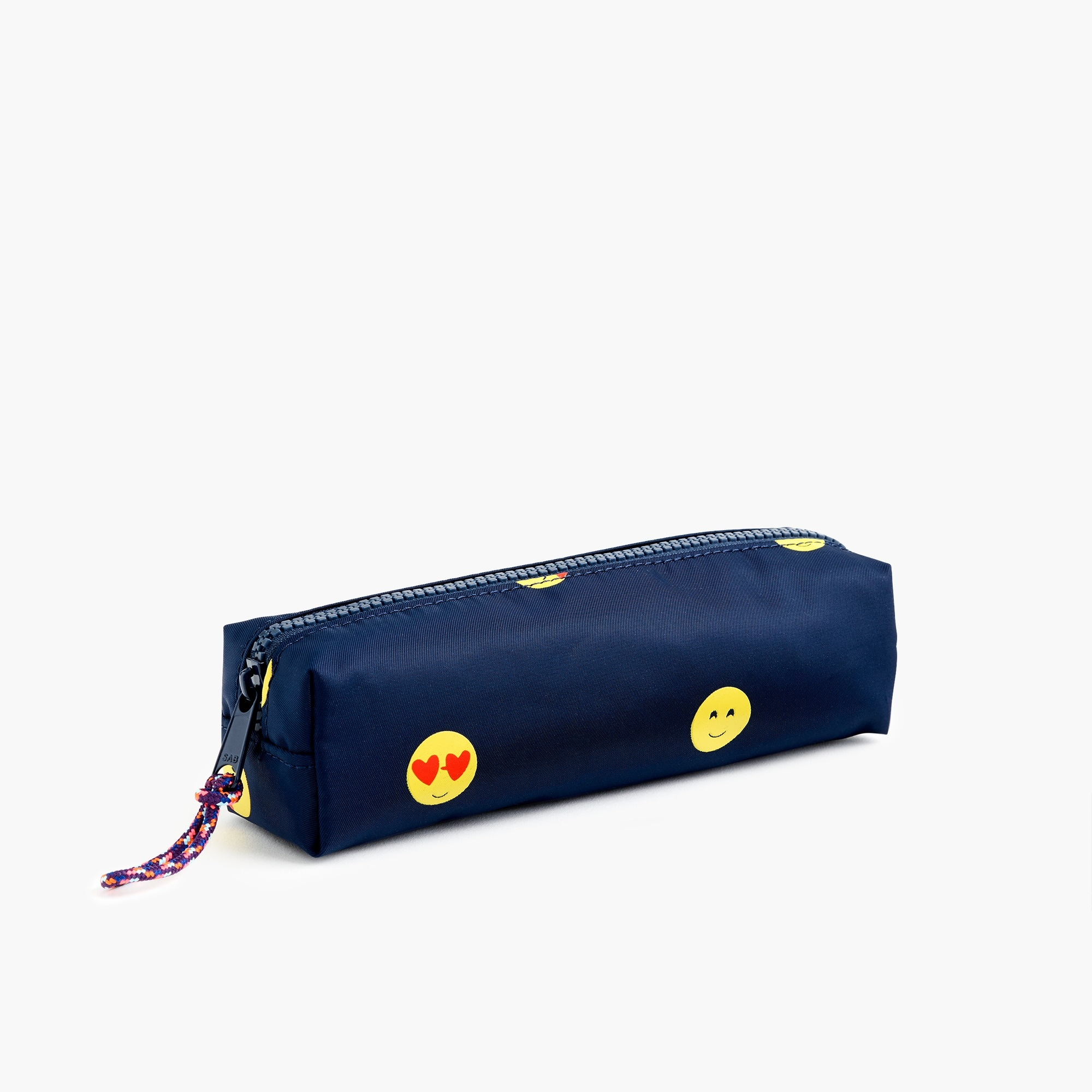 girls Kids' emoji-print pencil case