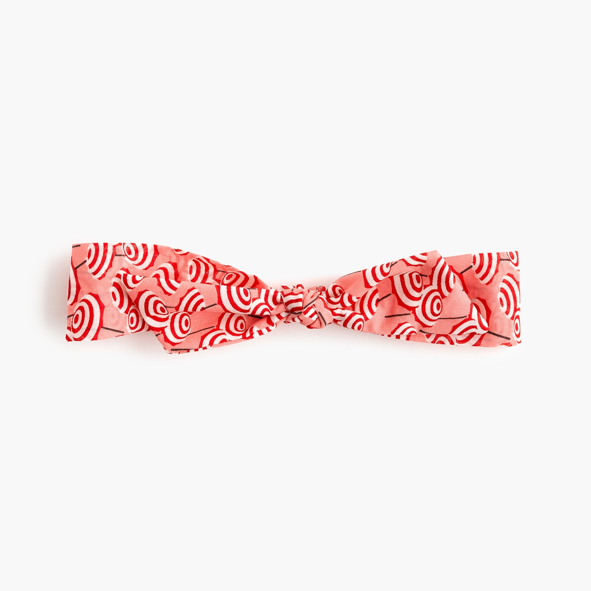 girls Girls' bow-topped fabric headband