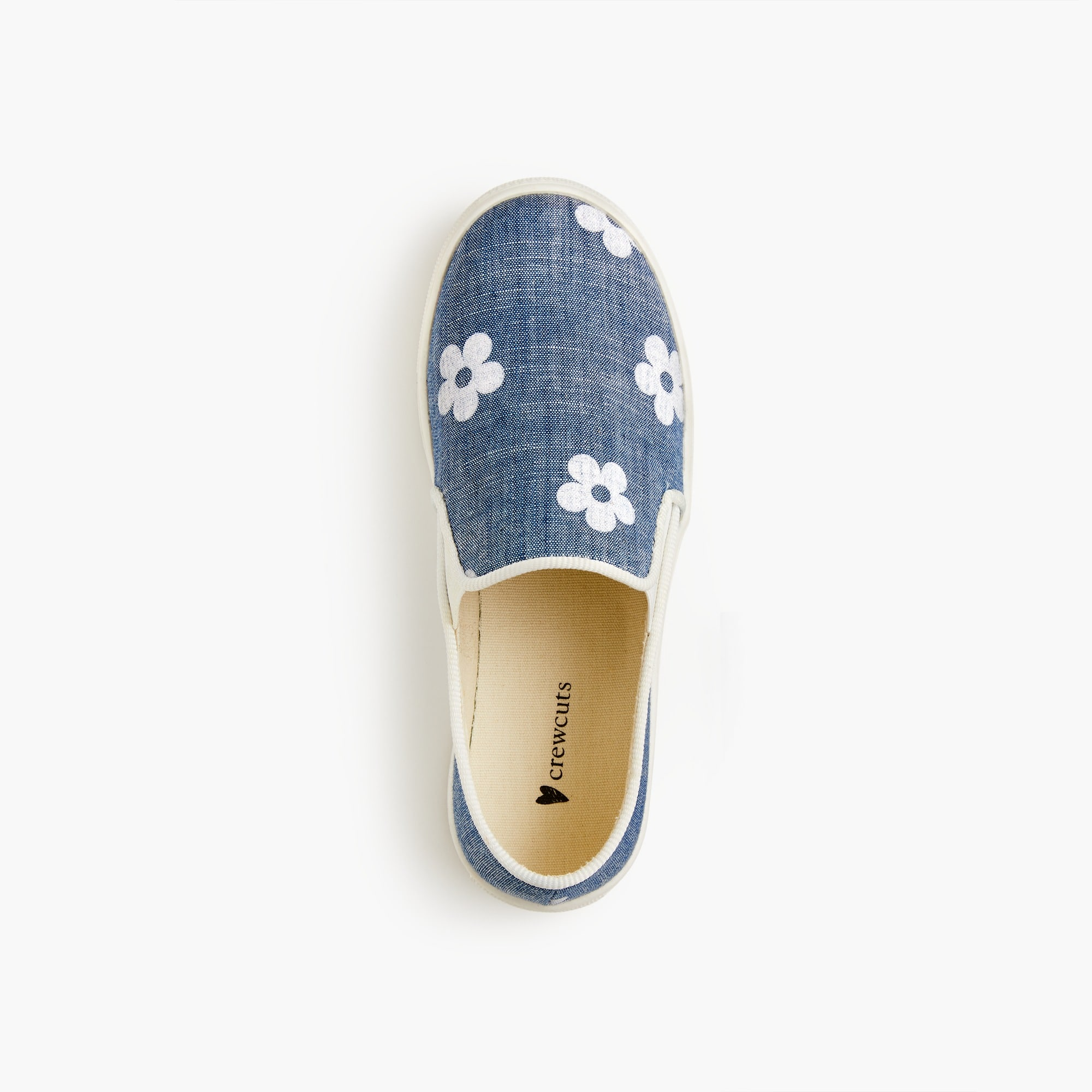 Image 2 for Girls' daisy slip-on sneakers