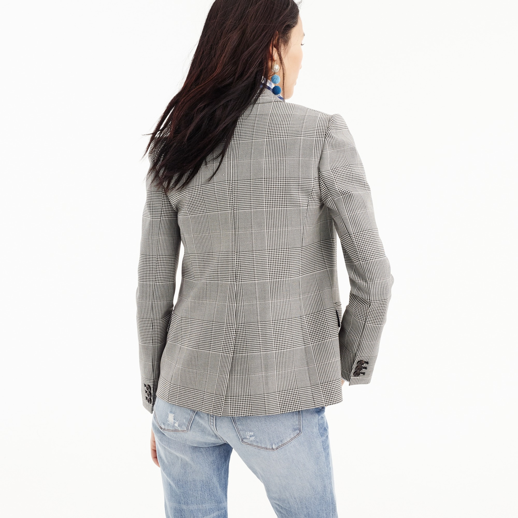 Image 4 for Dover blazer in glen plaid