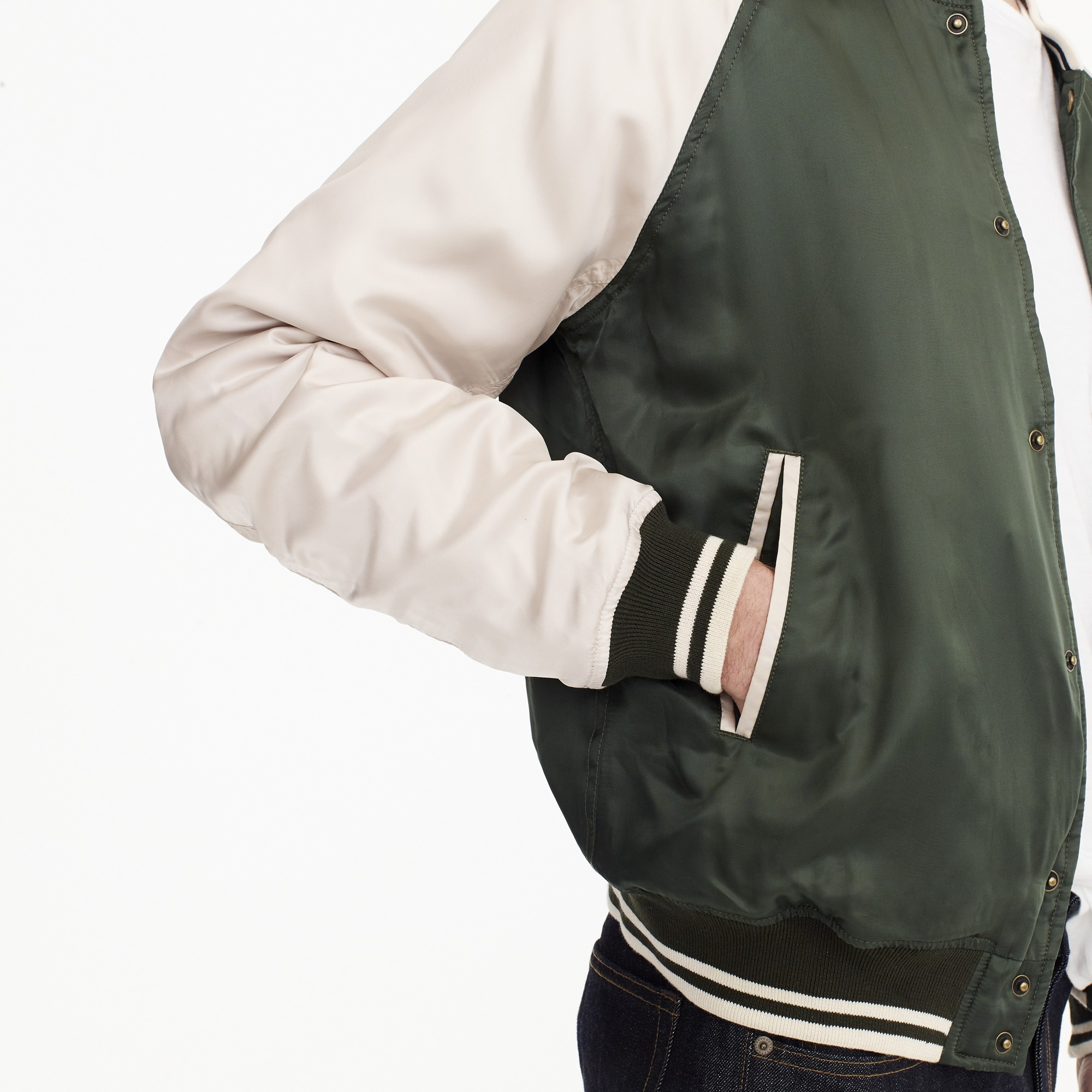 Wallace & Barnes letterman jacket