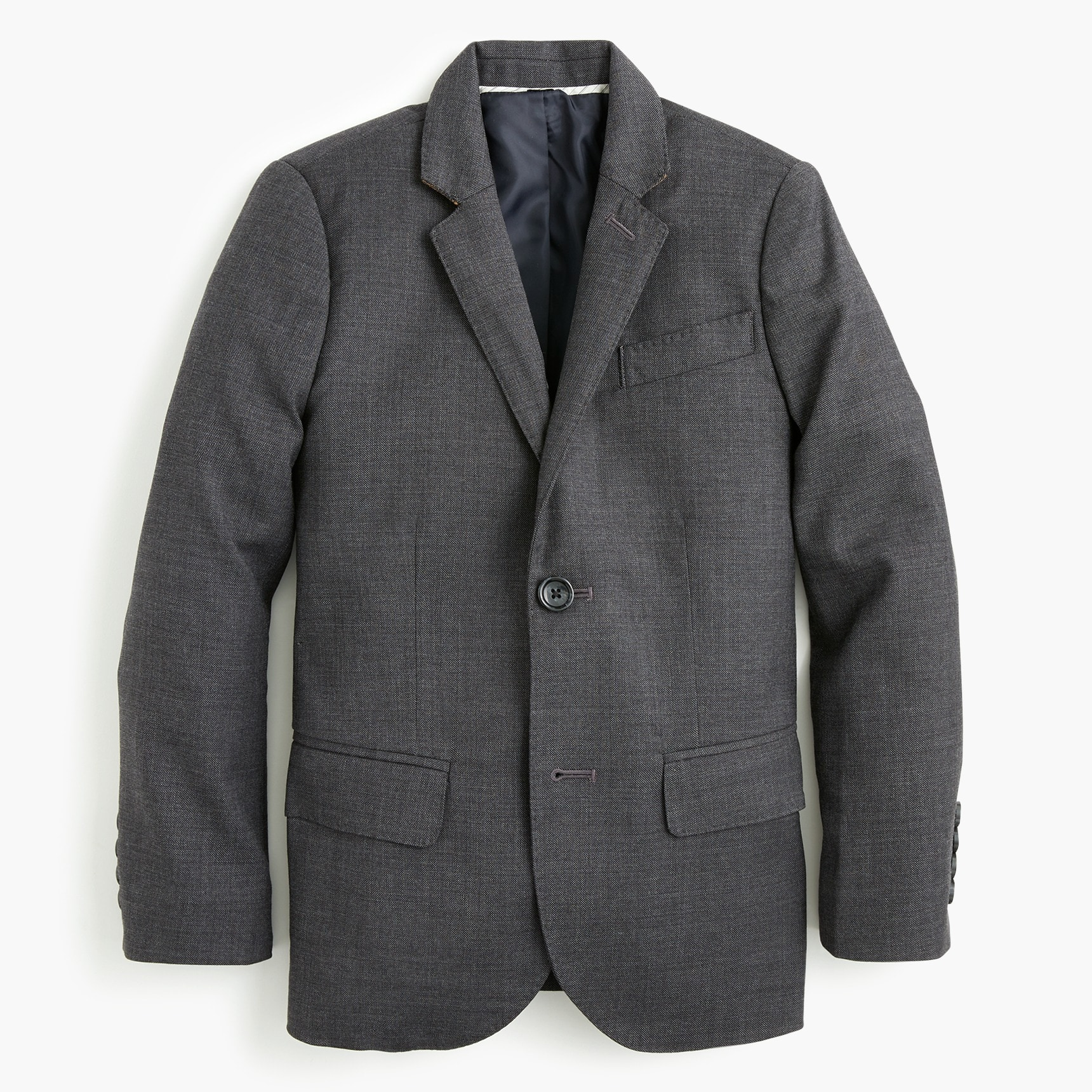 boys Boys' Ludlow suit jacket in stretch worsted wool