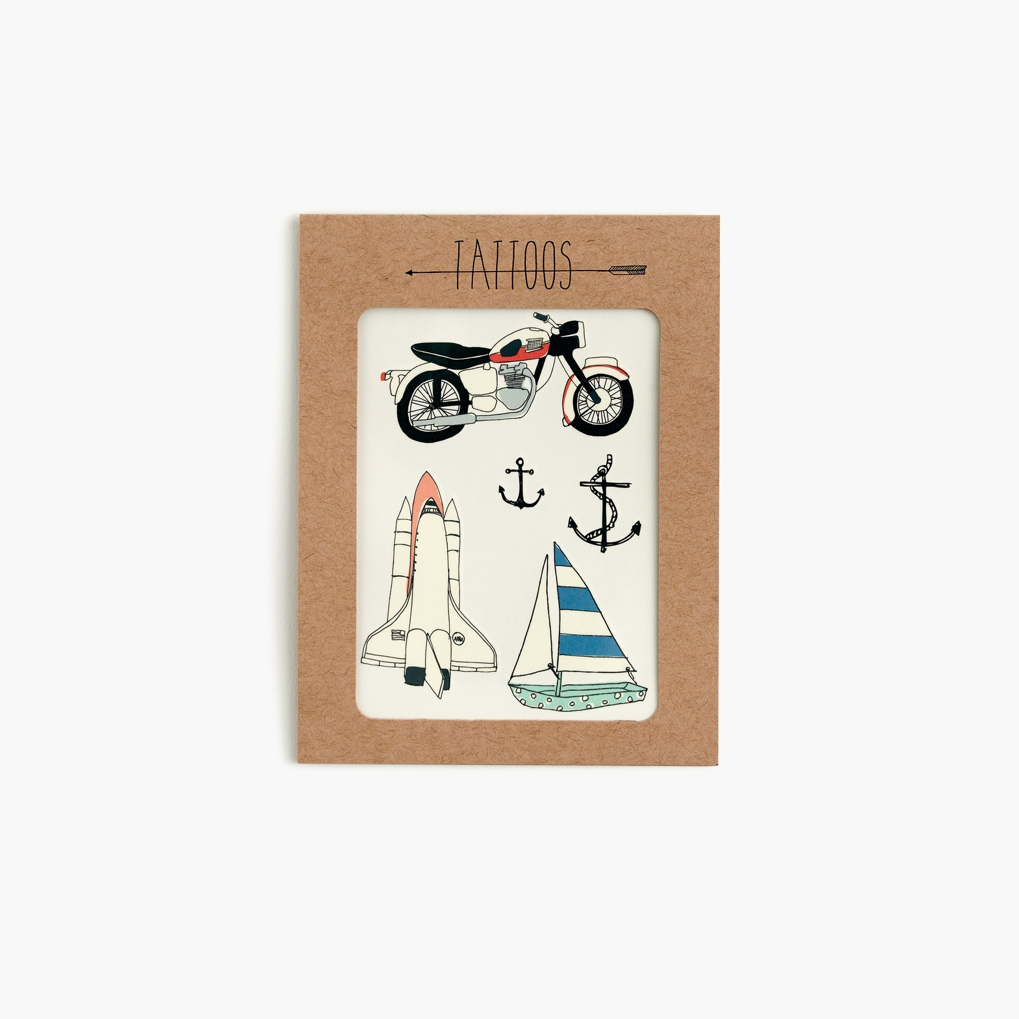 Kids' Hartland Brooklyn™ temporary tattoos in moto boy accessories c