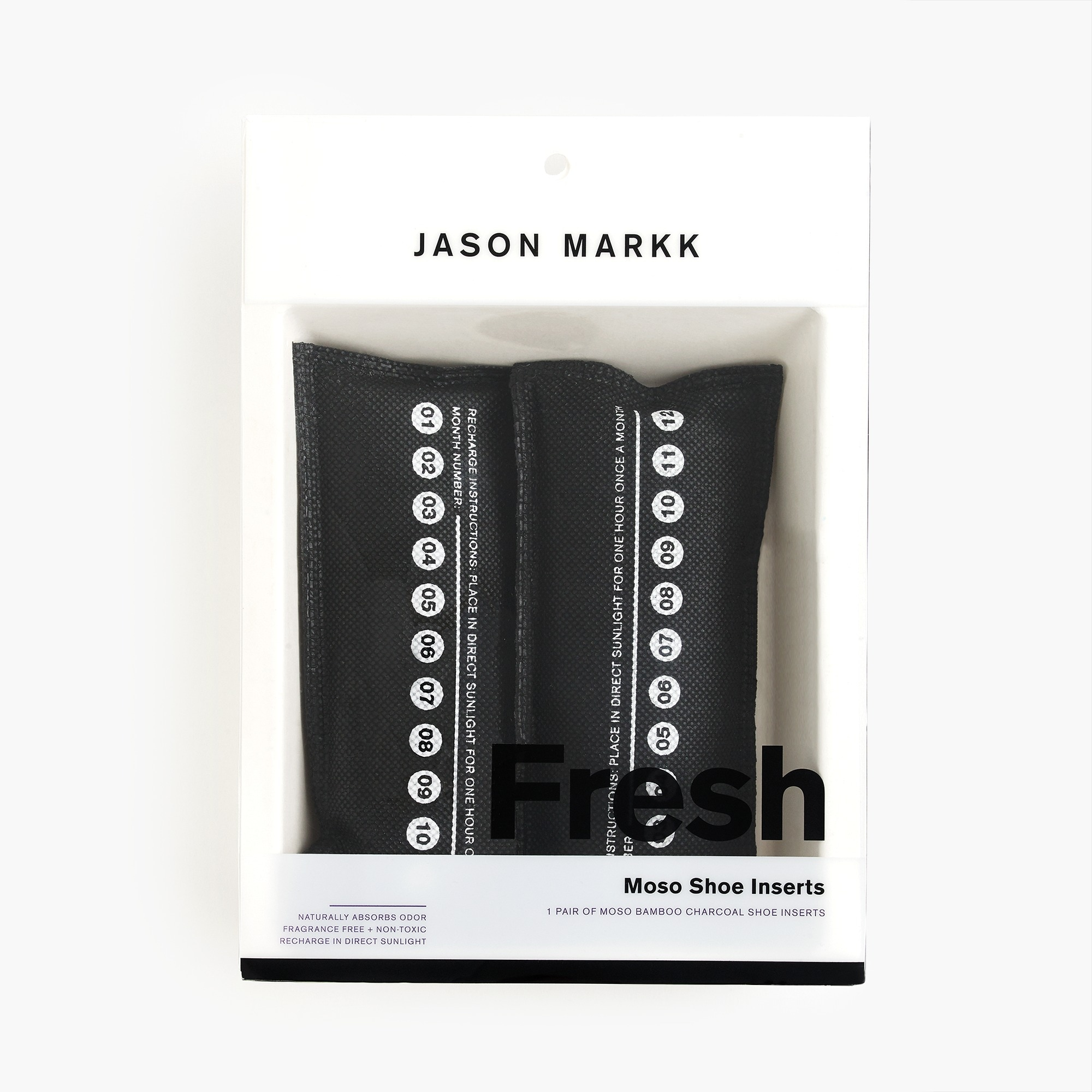 Jason Markk™ moso bamboo charcoal shoe fresheners men accessories c