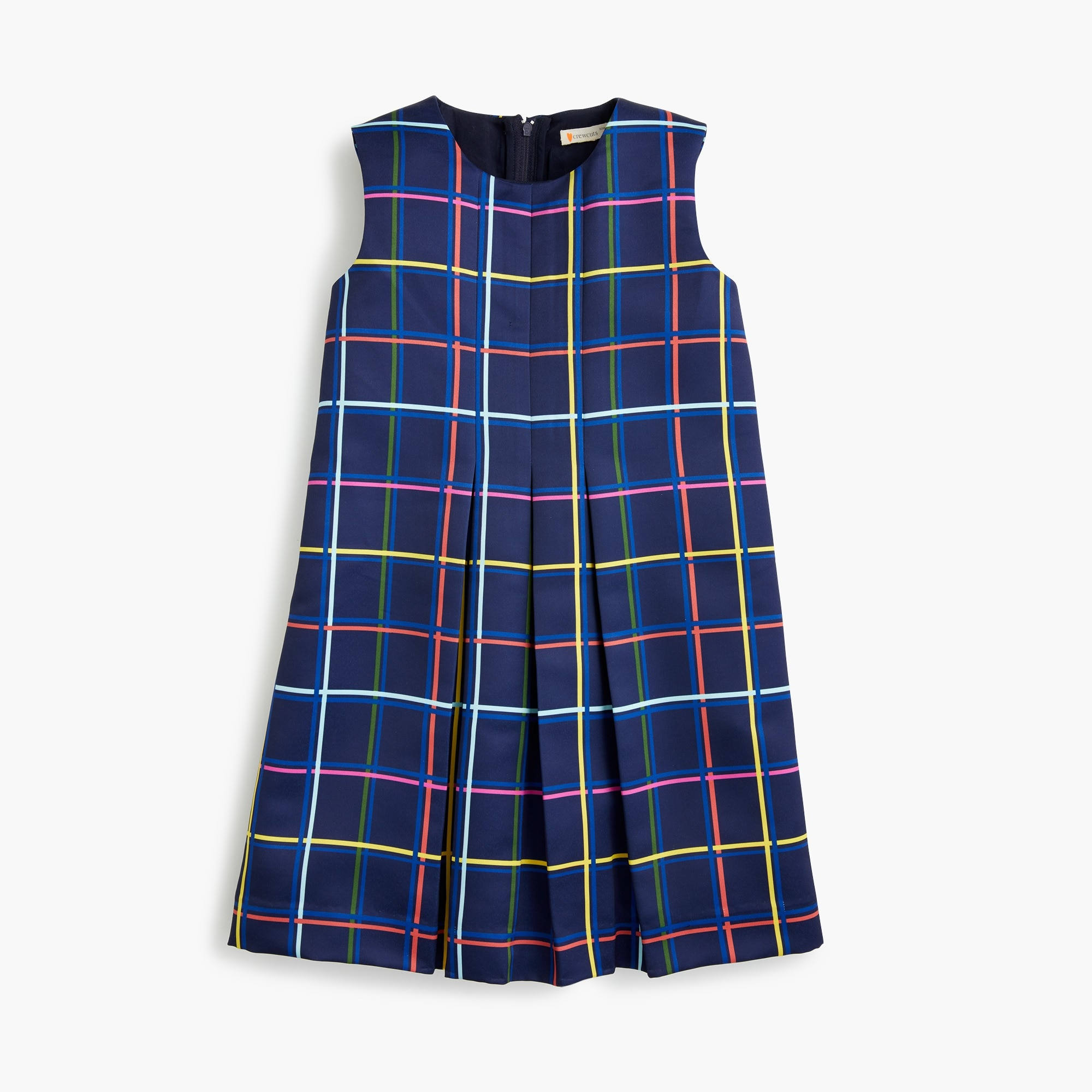 Girls' plaid dress girl dresses & jumpsuits c