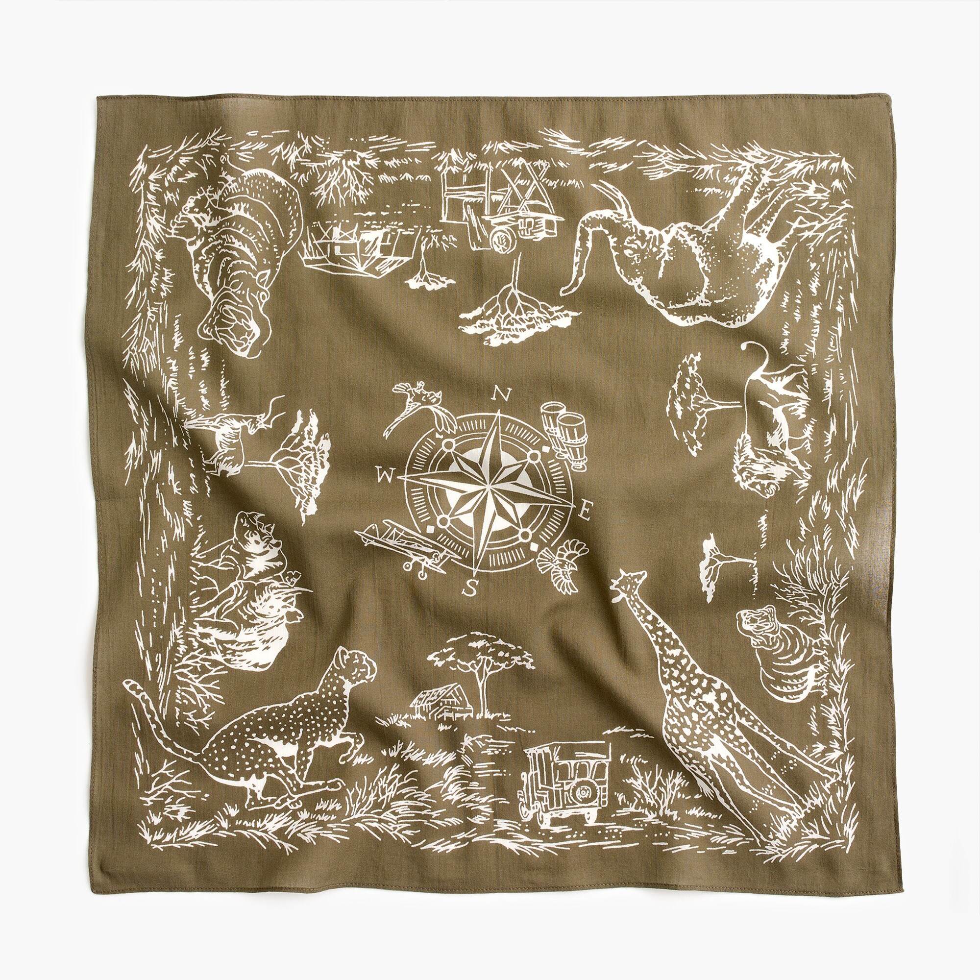 men's wallace & barnes safari bandana - men's accessories