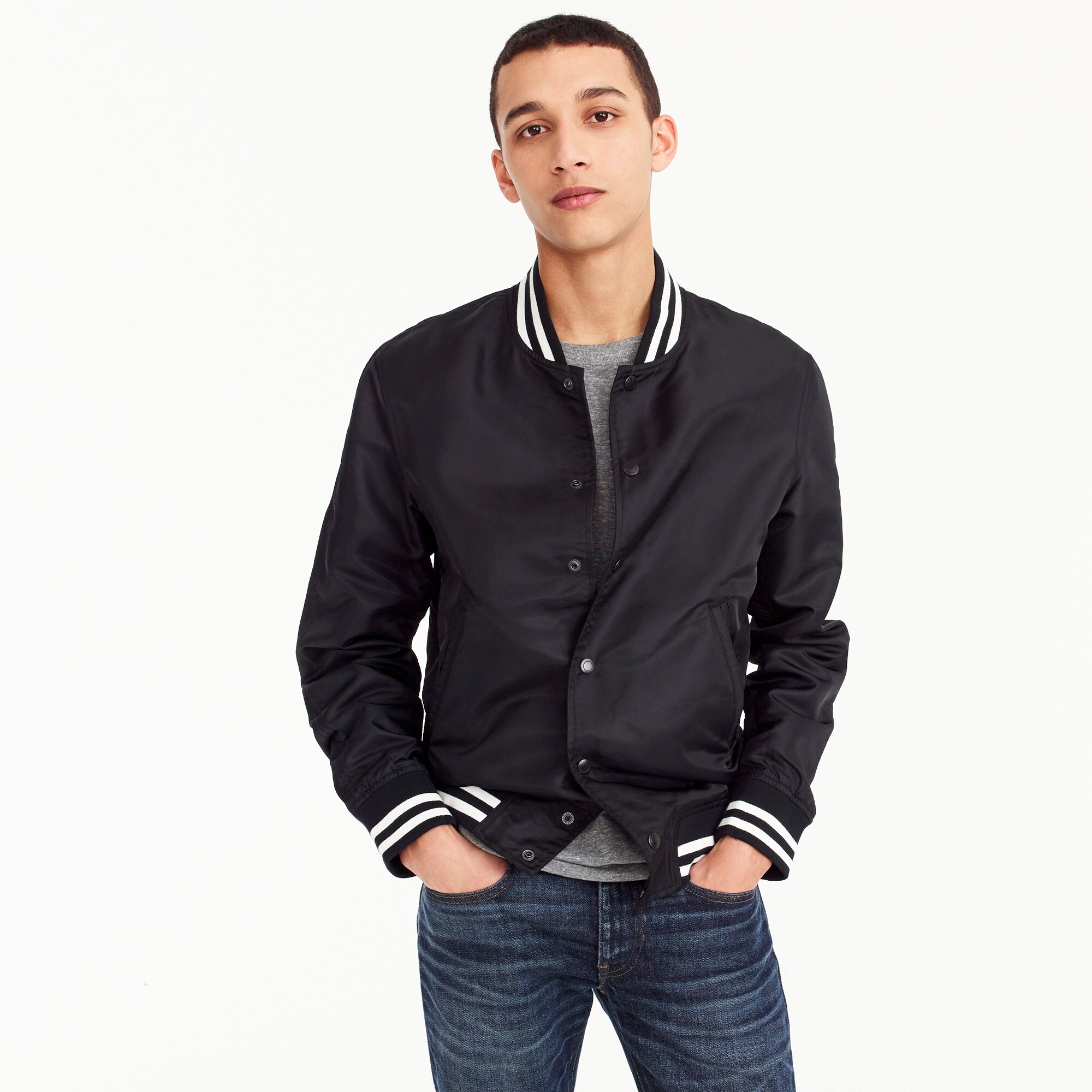 Reigning Champ® stadium jacket men j.crew in good company c