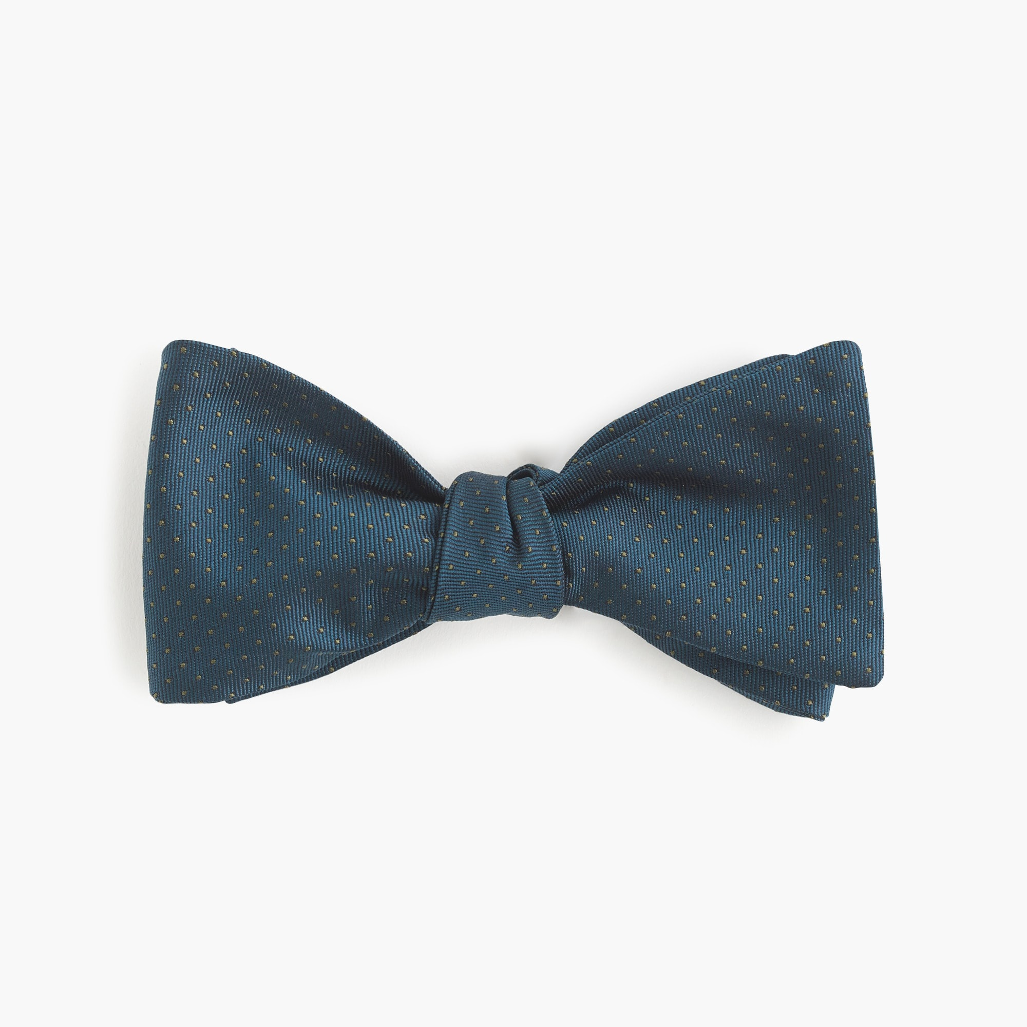 Cotton bow tie in dot print