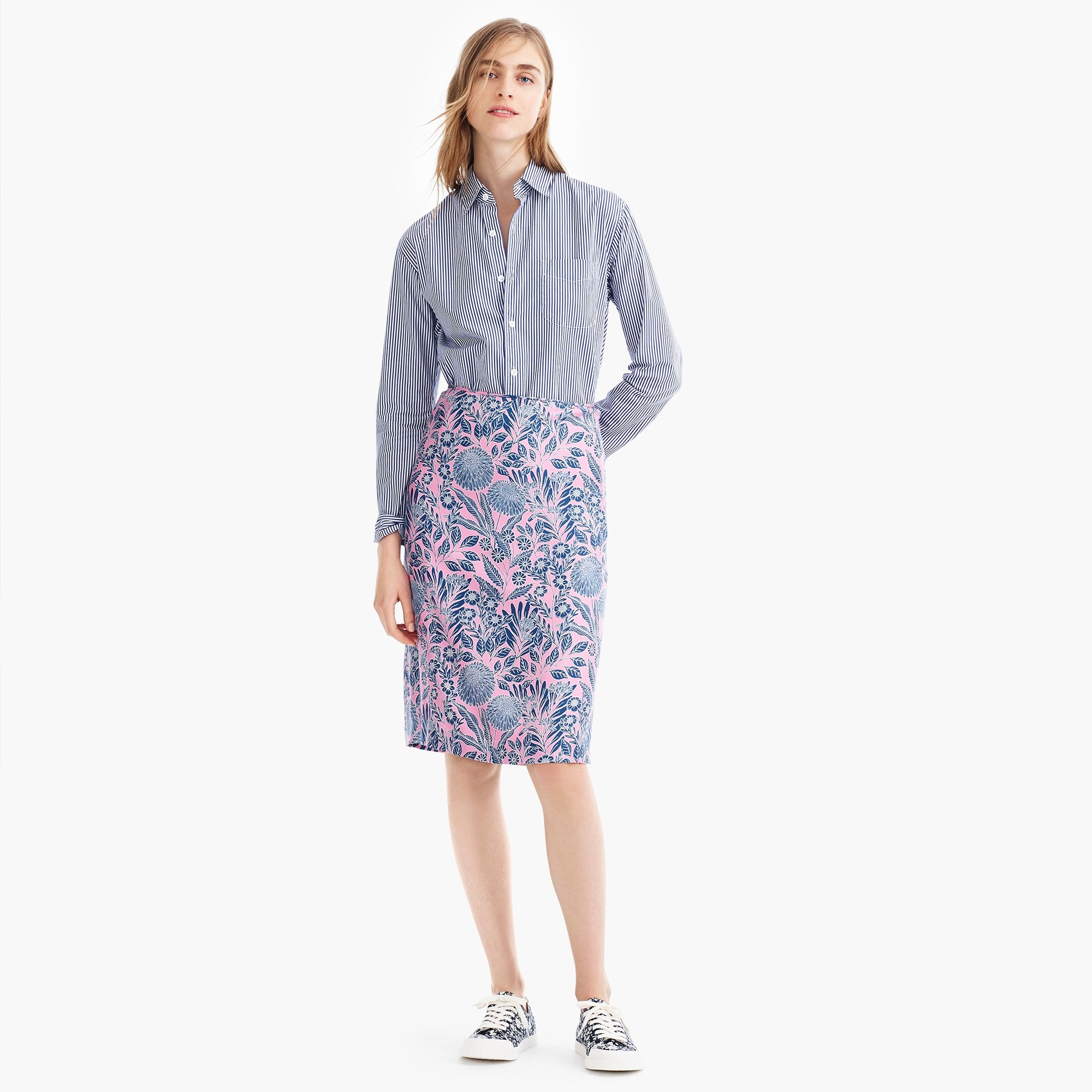 Image 4 for J.Crew X Abigail Borg silk slip skirt