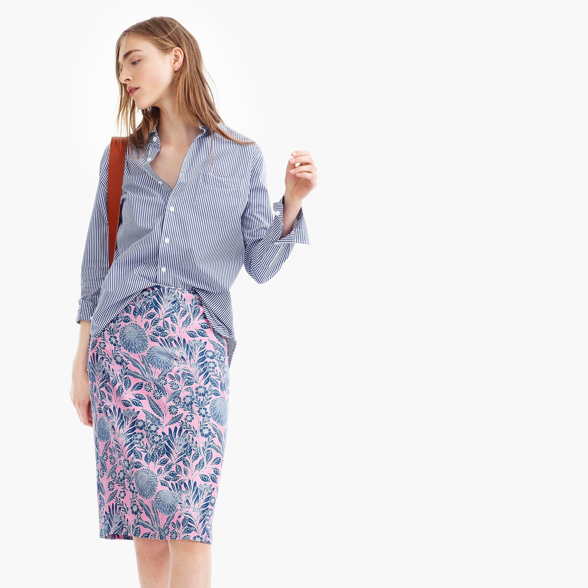 Image 1 for J.Crew X Abigail Borg silk slip skirt