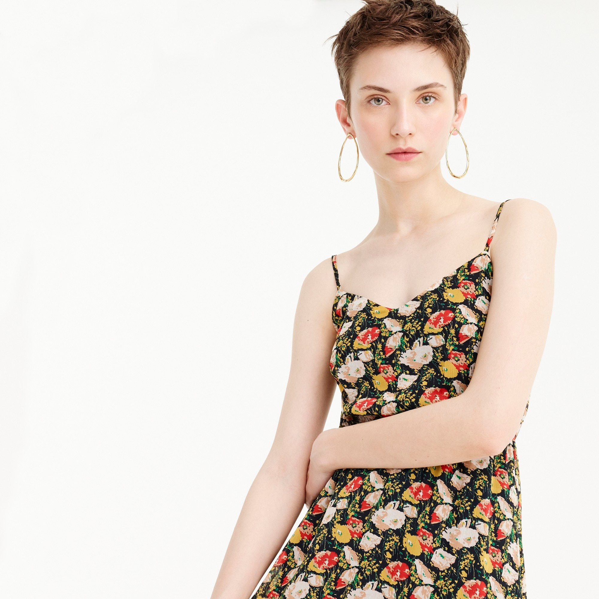 Image 3 for J.Crew Mercantile tiered maxi dress in sweet pea floral