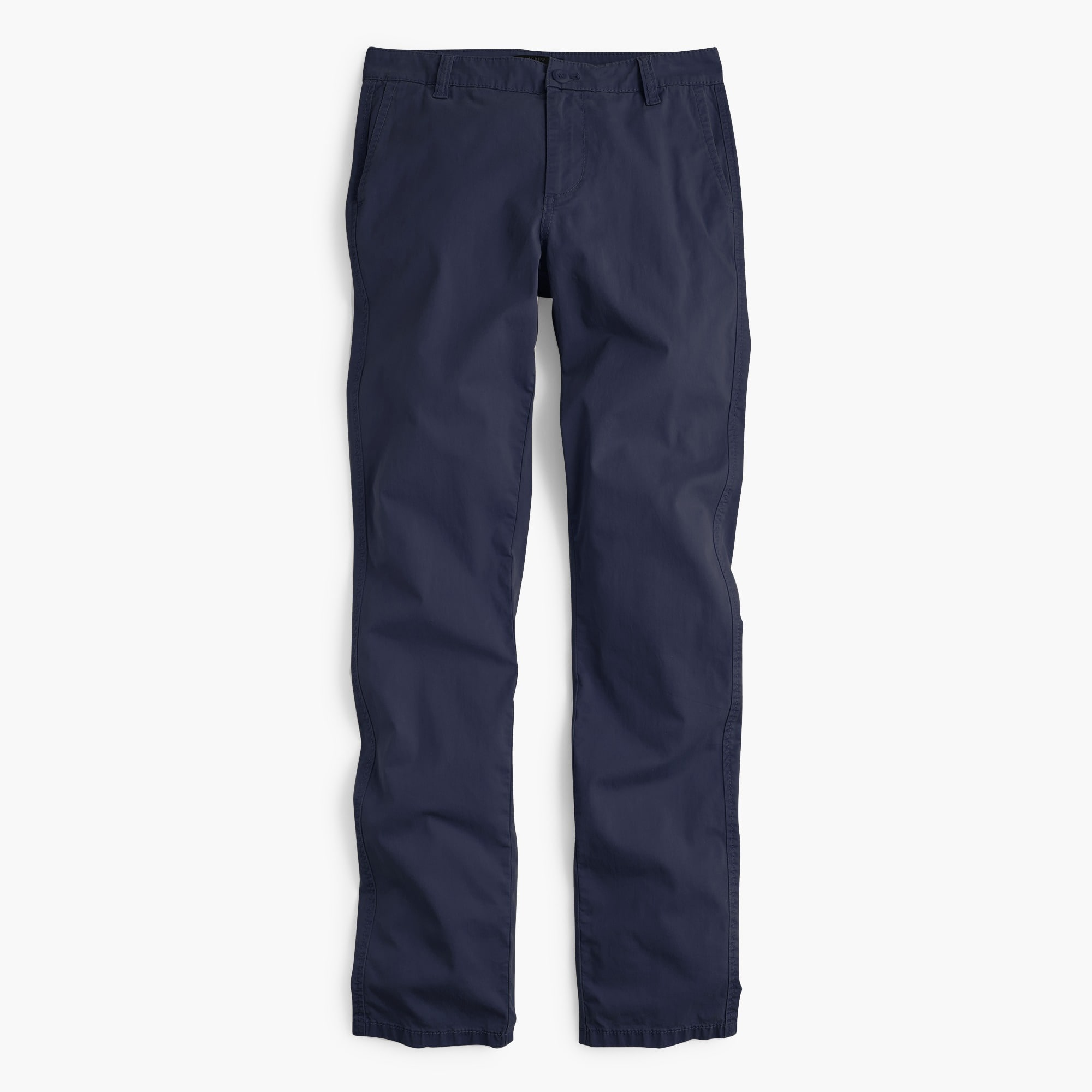 Tall straight-leg pant in stretch chino