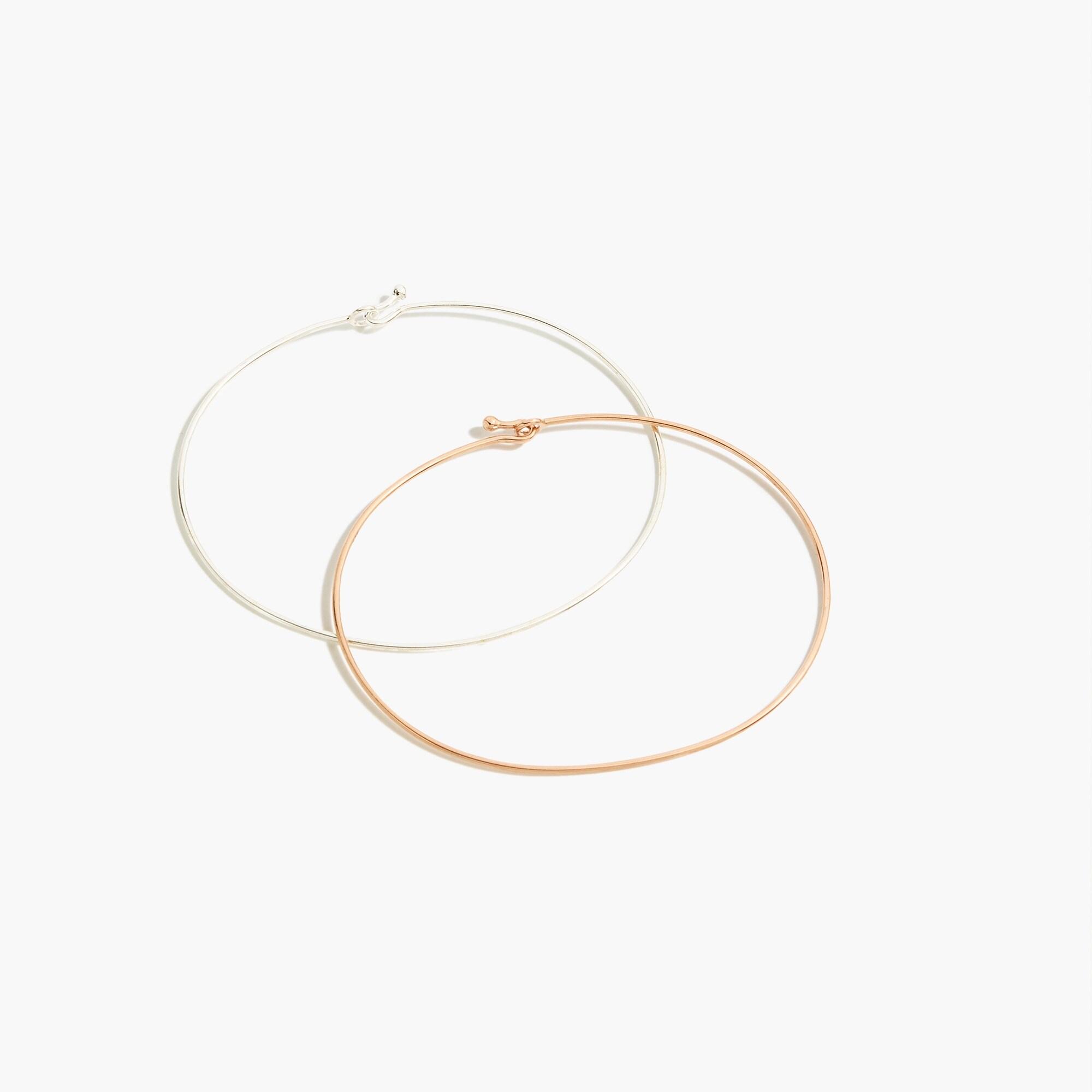 Demi-fine 14k gold-plated wire bracelets women new arrivals c