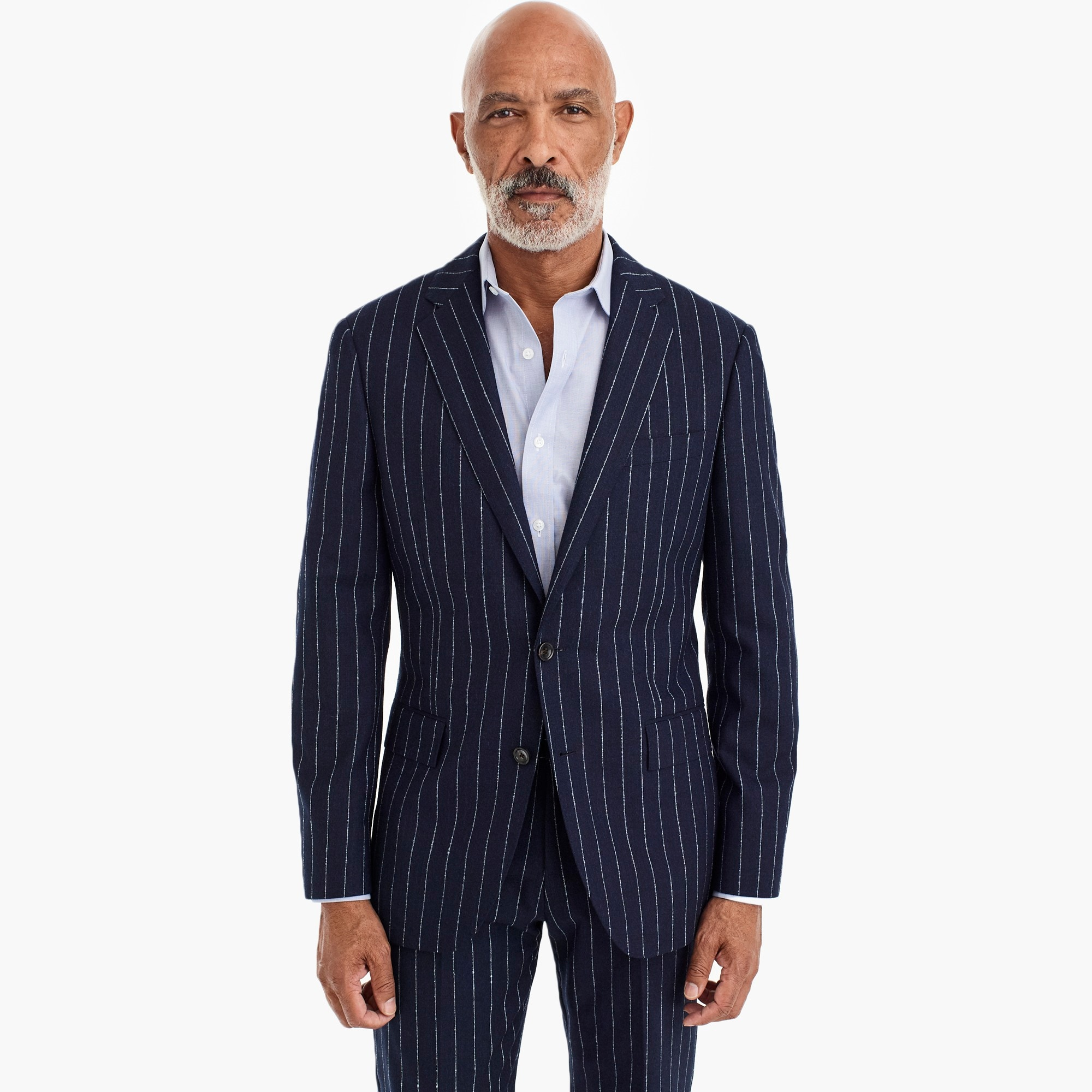 mens Ludlow Slim-fit blazer in bouclé wool blend