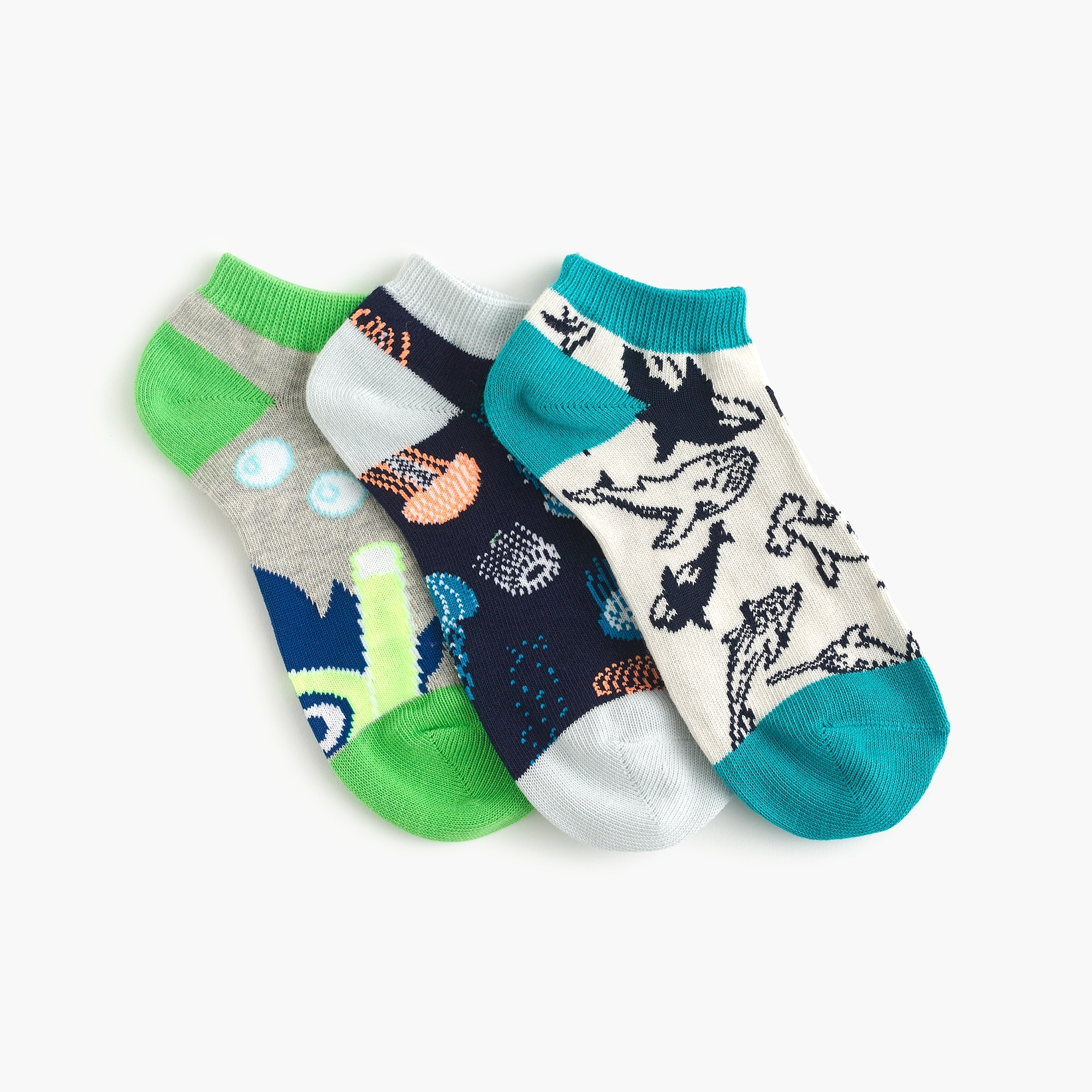 Boys' ankle socks three-pack boy new arrivals c