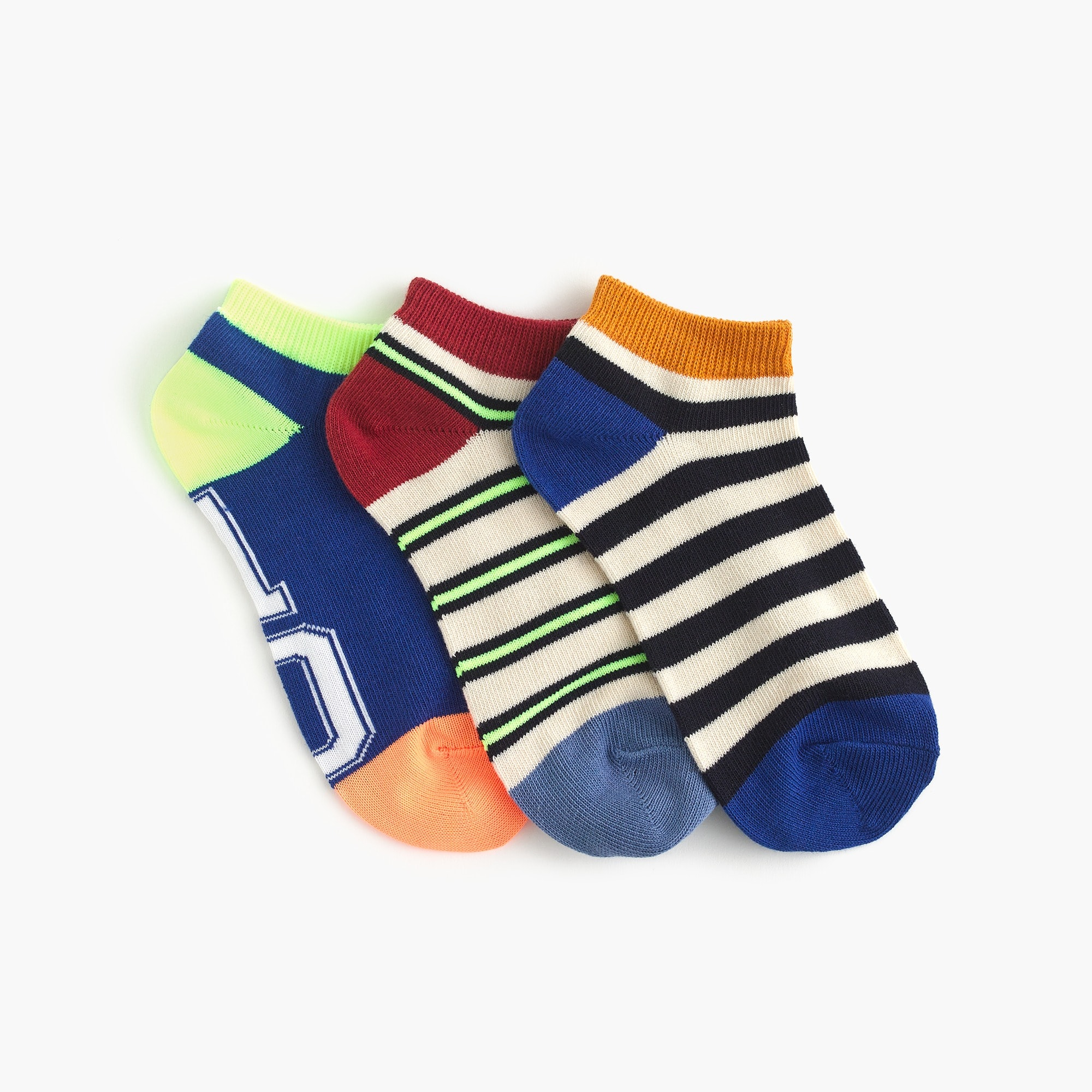 Boys' ankle socks three-pack boy accessories c