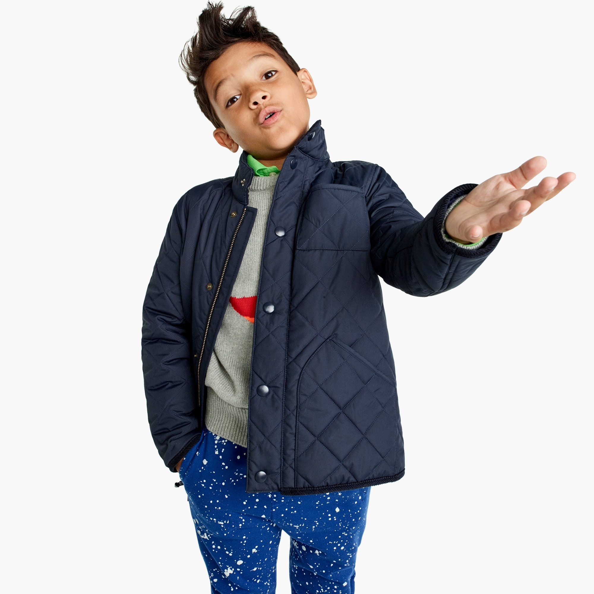 boys Boys' Sussex quilted jacket