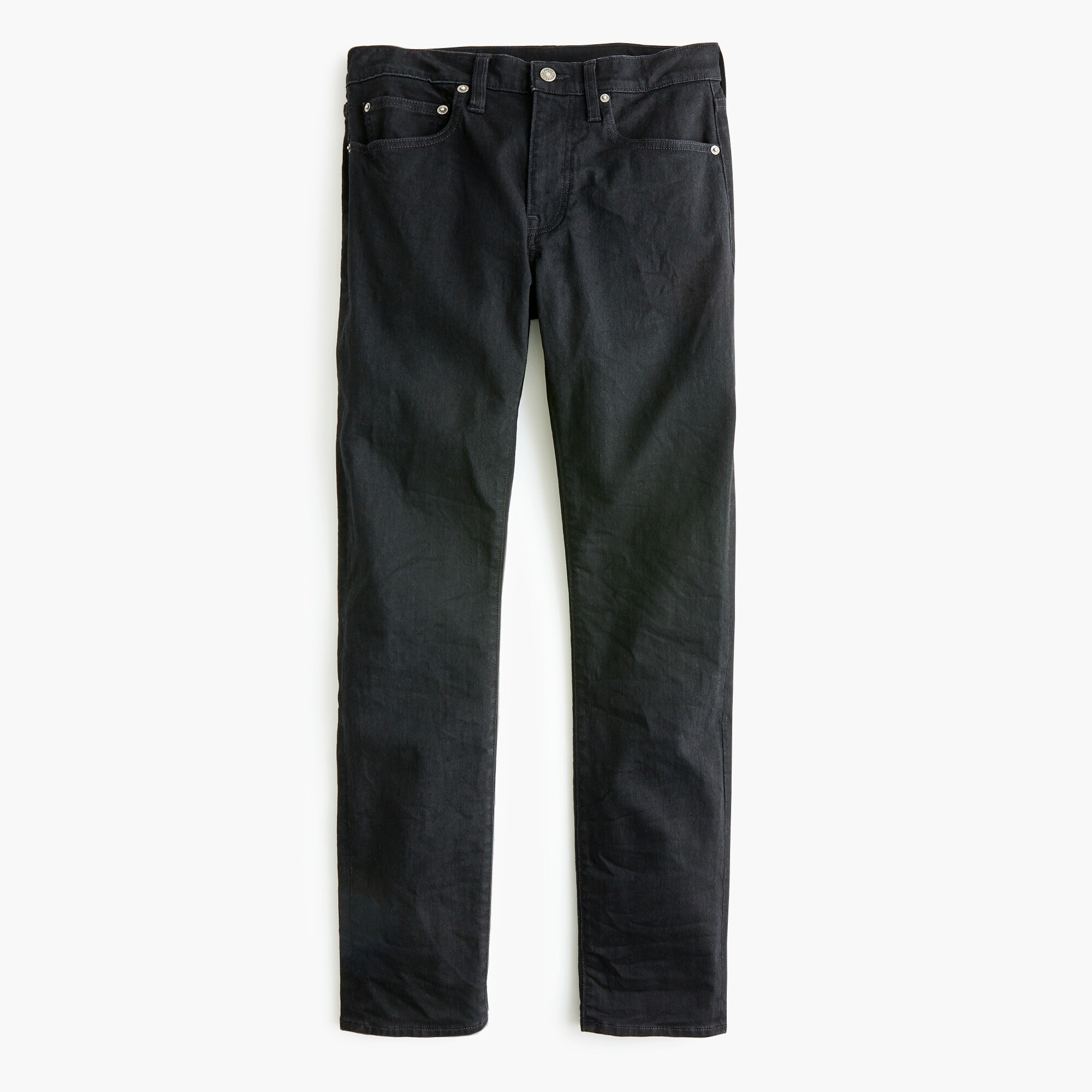 484 Slim-fit stretch jean in deep black
