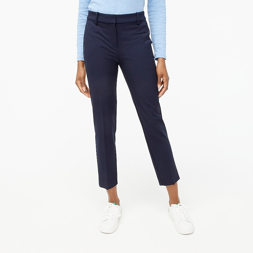 j.crew factory: petite ruby pant for women, right side, view zoomed