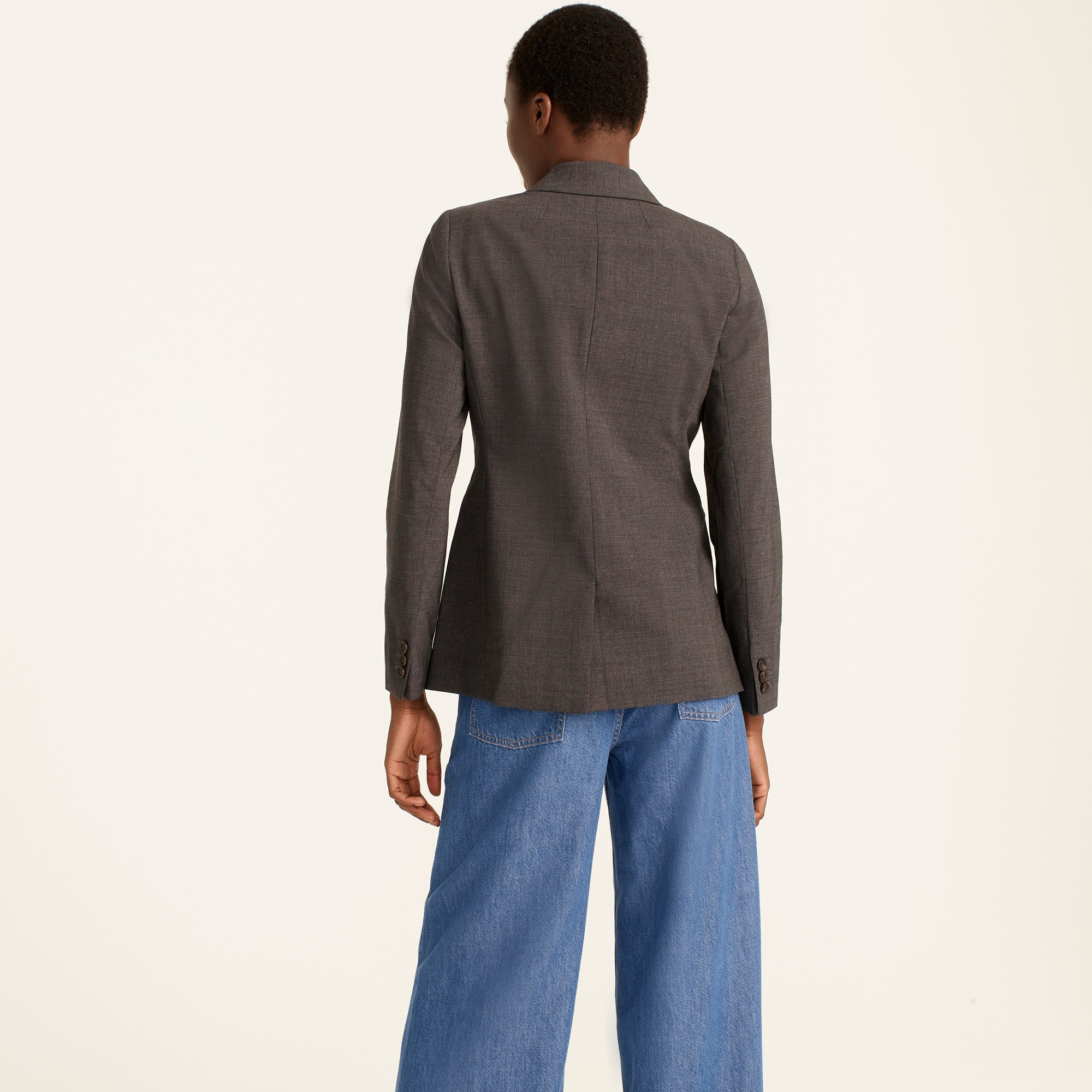 Parke blazer in Italian stretch wool